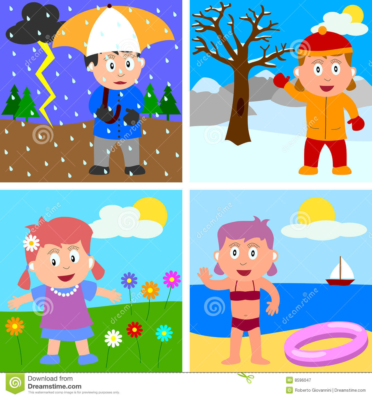 The climate weather and clothes - Activities - The Irism School ...