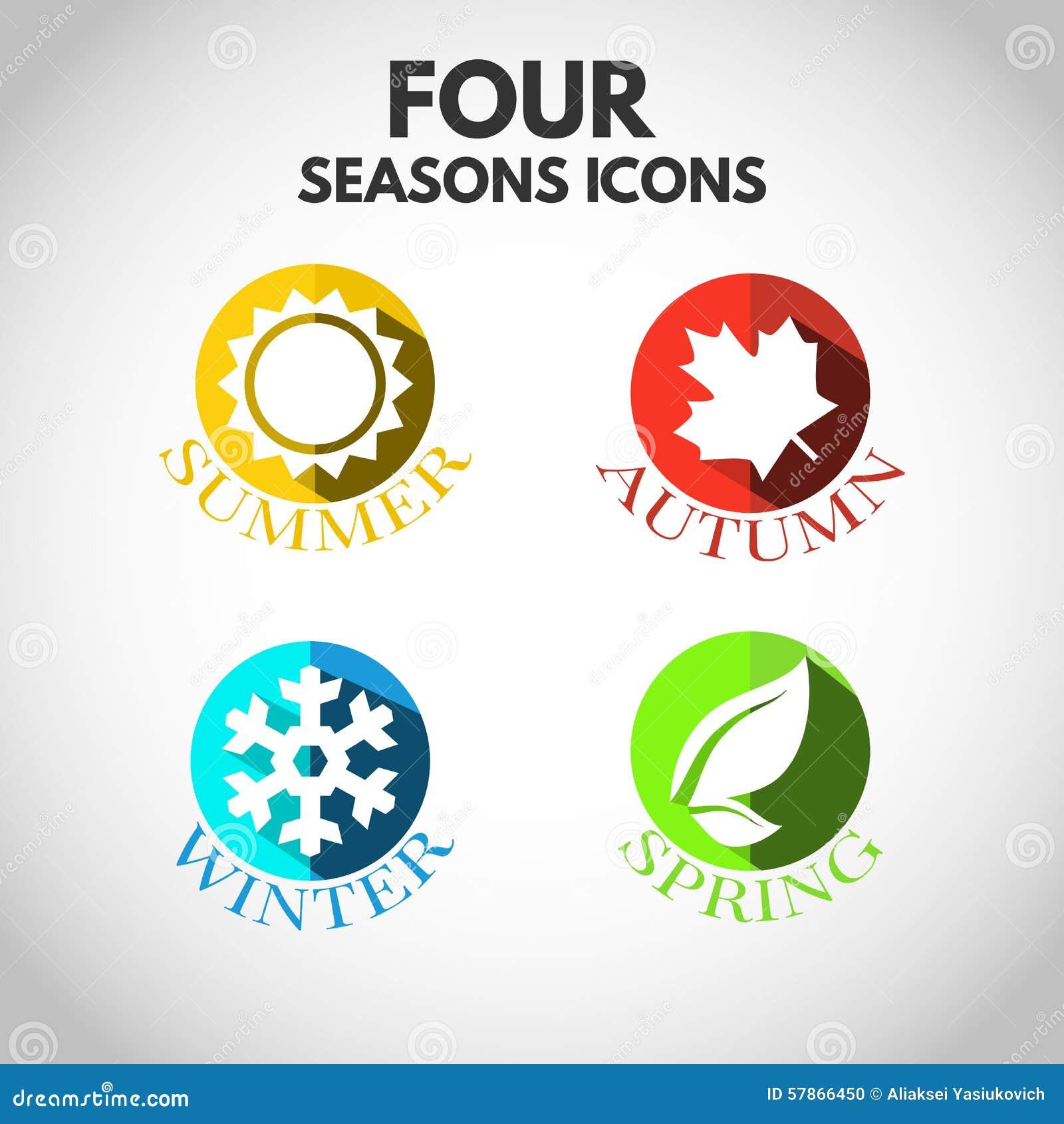 4 seasons symbols