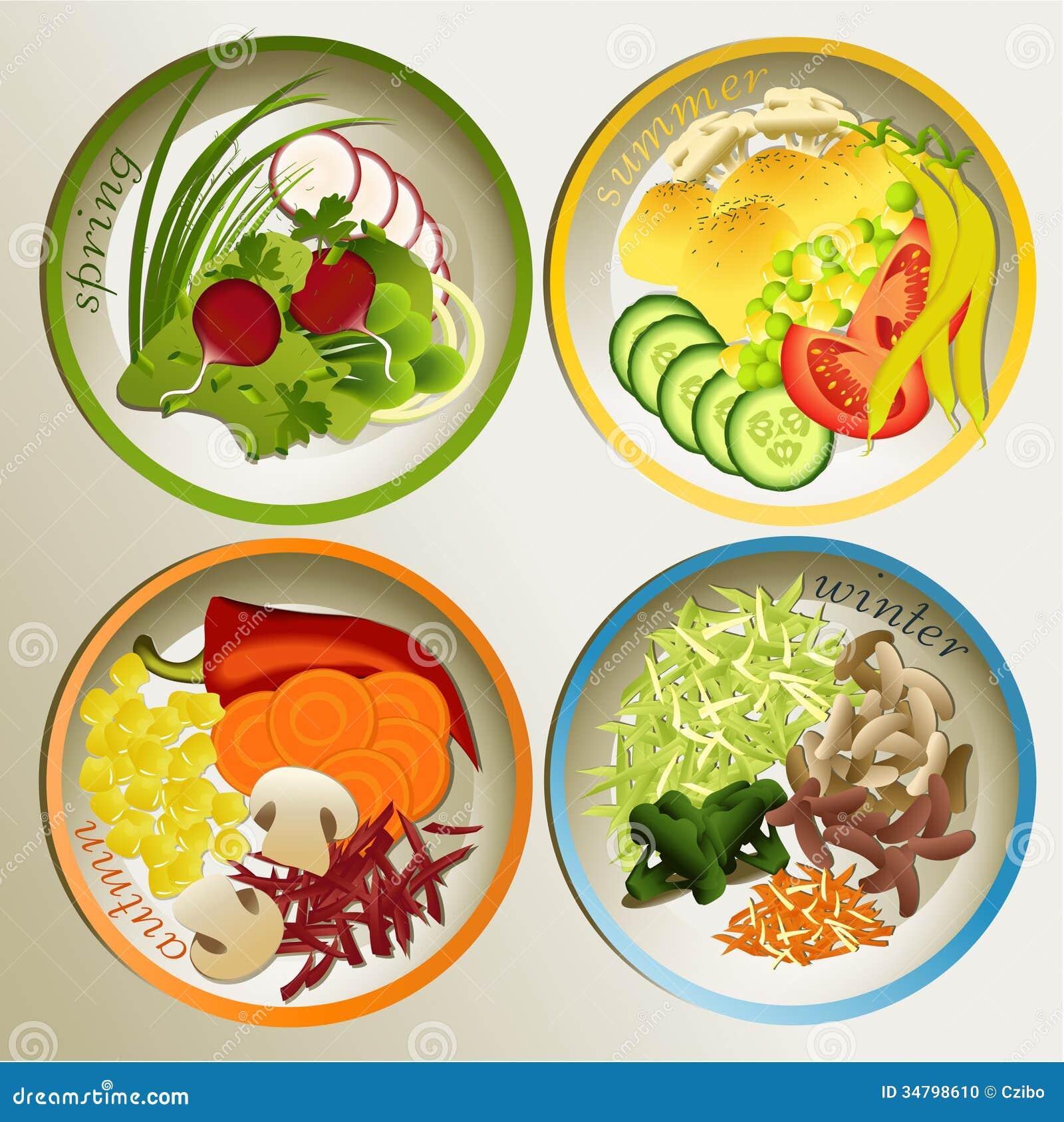 4 seasons diet food