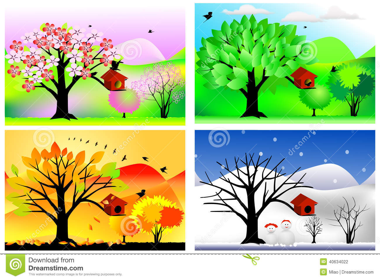 related images to seasons clip art spring and summer graphics fall