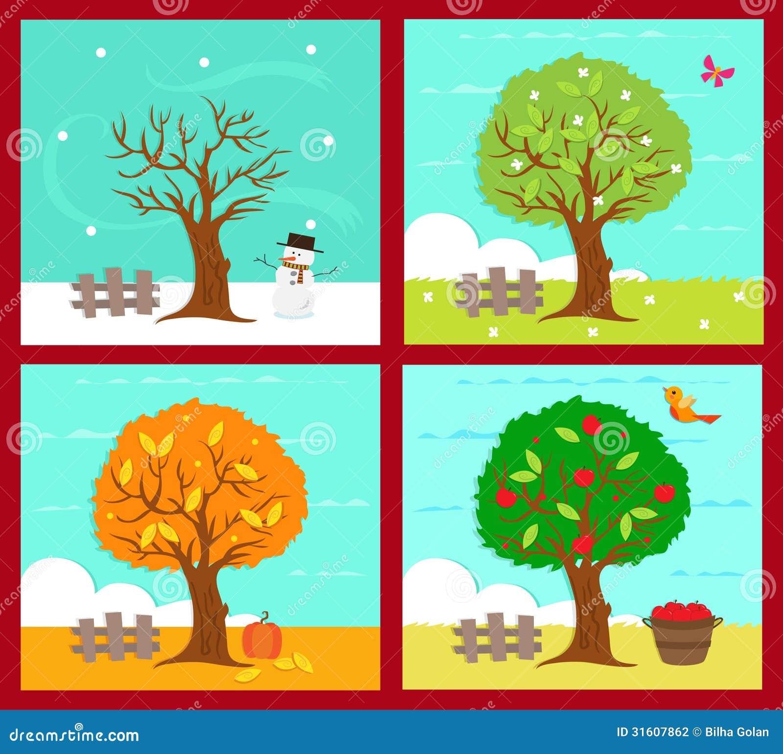four seasons lessons tes teach