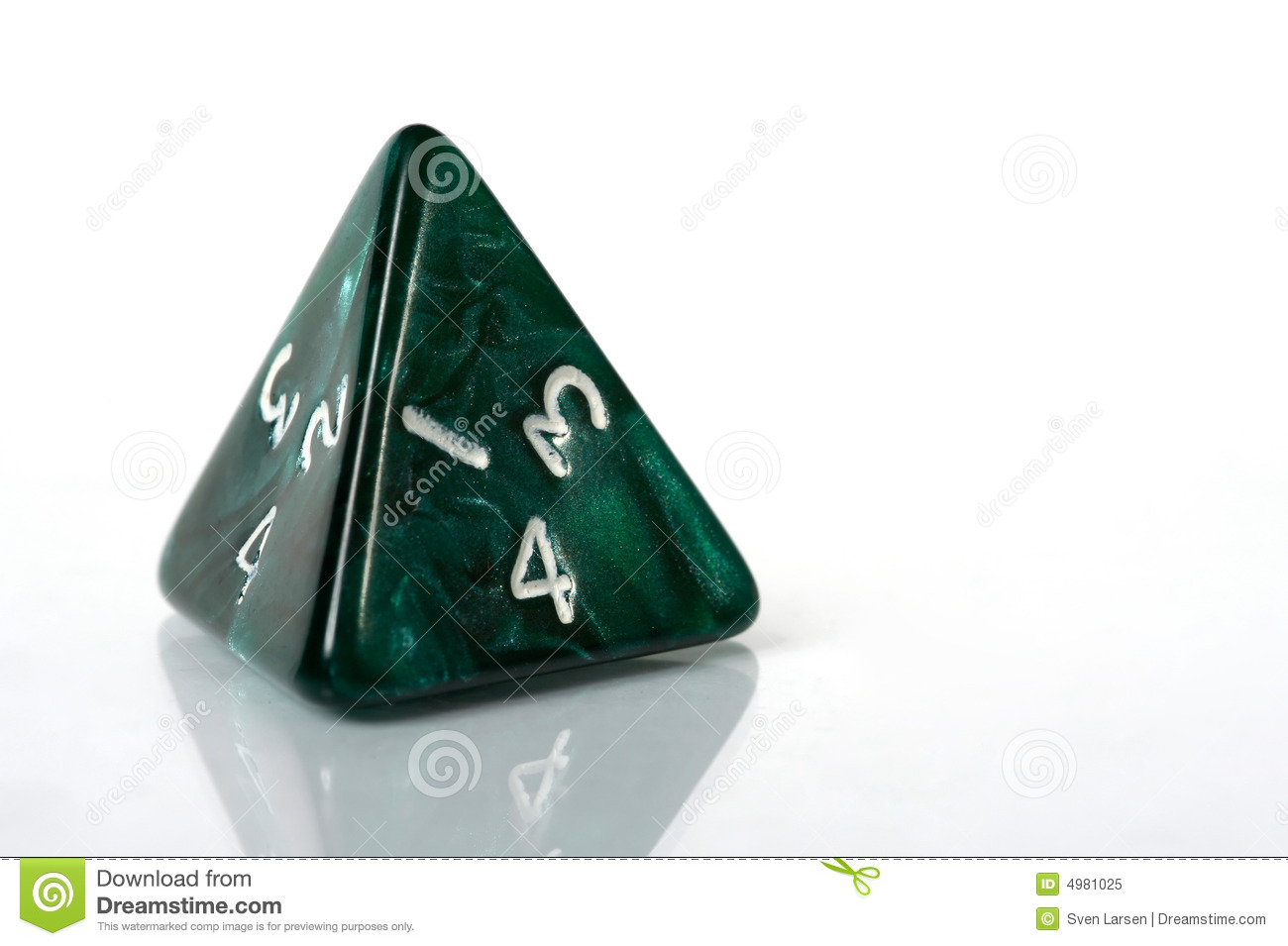 4 sided dice online