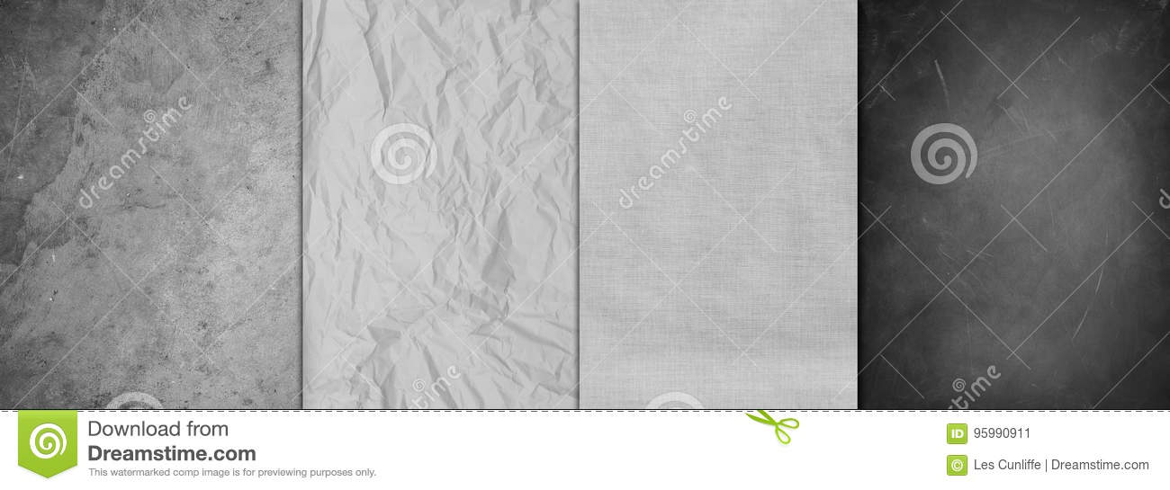 Four textures background