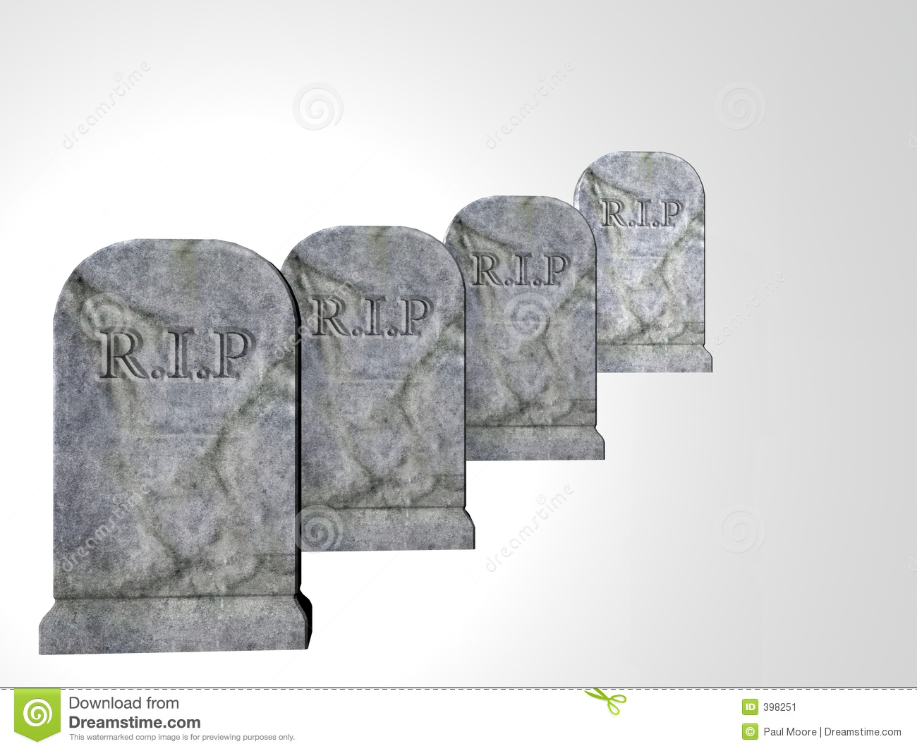 four tombstones stock image image 398251 Blank Fortune Cookie Chinese Food Clip Art