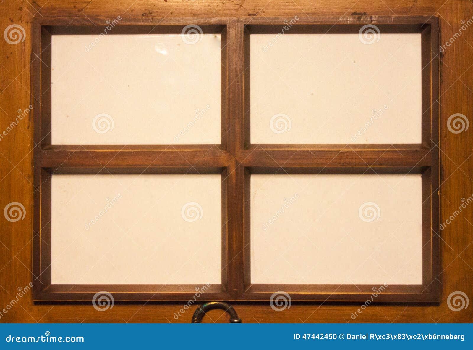 four wooden frames stock photo image of gold space 47442450. Black Bedroom Furniture Sets. Home Design Ideas