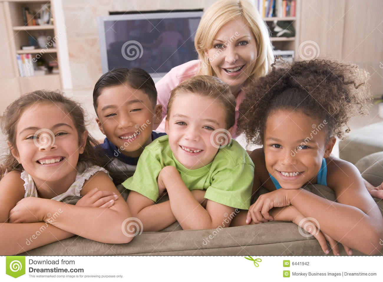 Four Young Friends Hanging Out At Home Stock Photo - Image of ... for Happy Filipino Family At Home  589ifm