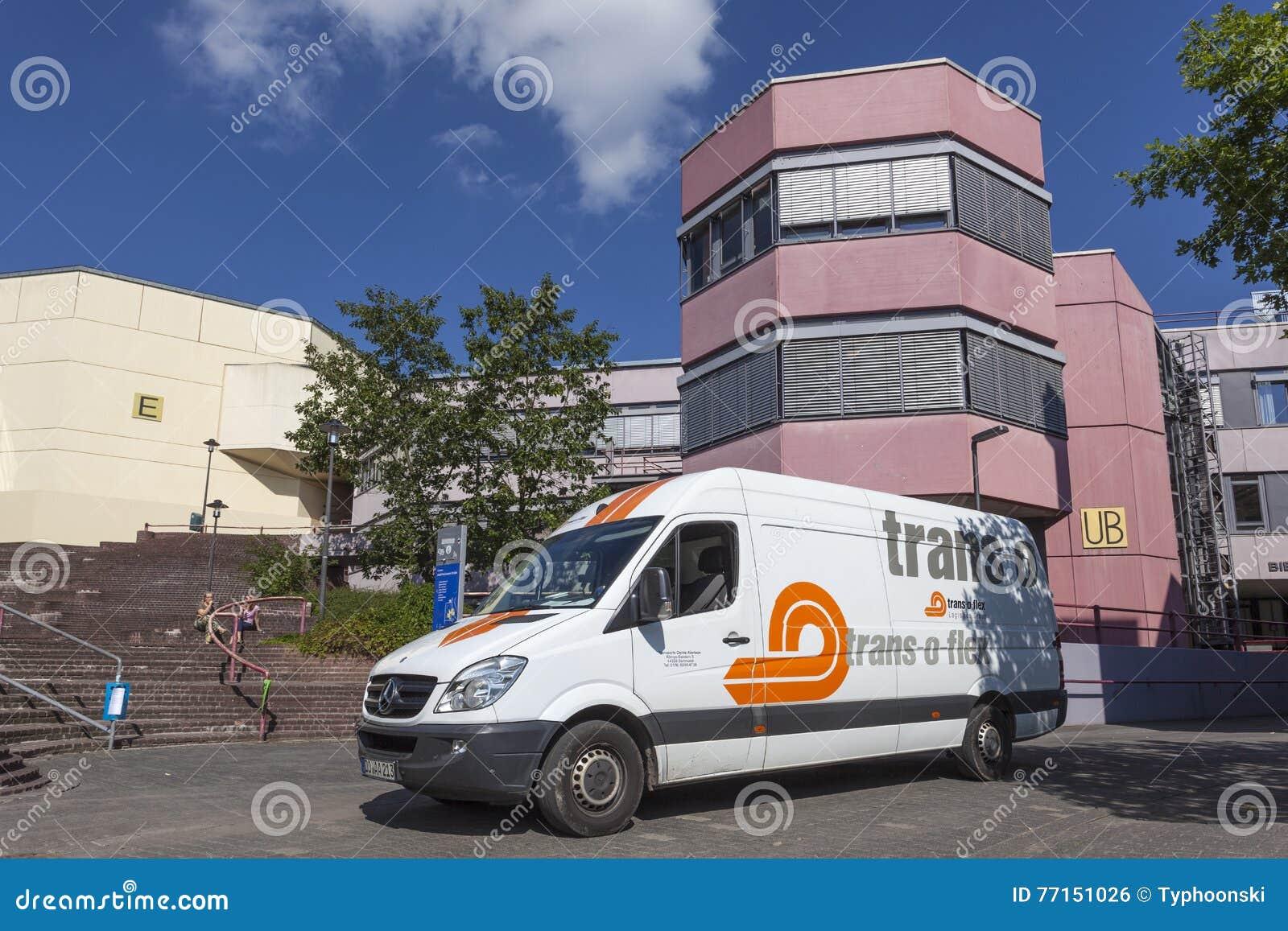 Fourgon de livraison de Transport-o-câble
