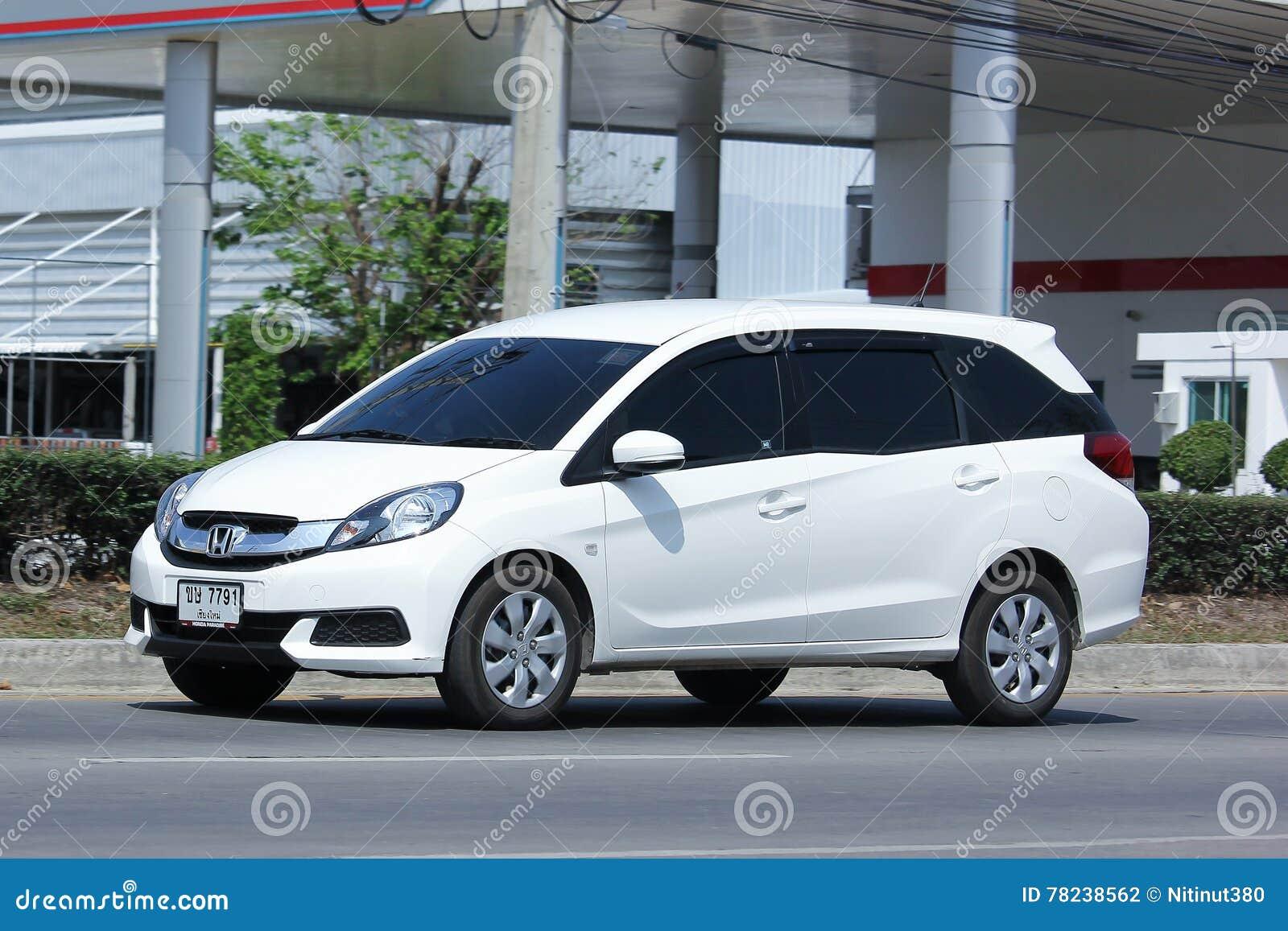 Fourgon Prive De Honda Mobilio Photographie Editorial