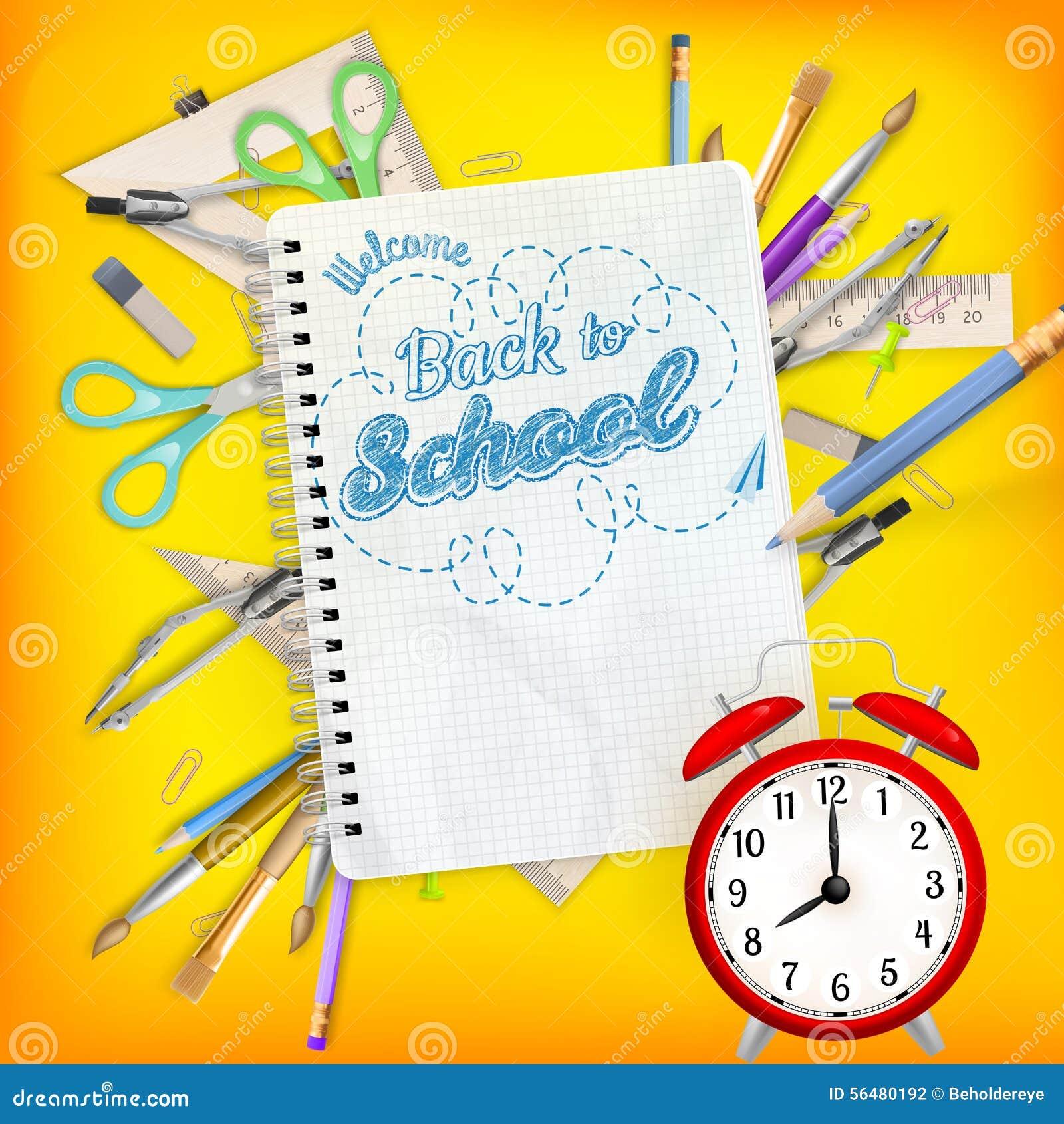 Fournitures de bureau d école ENV 10