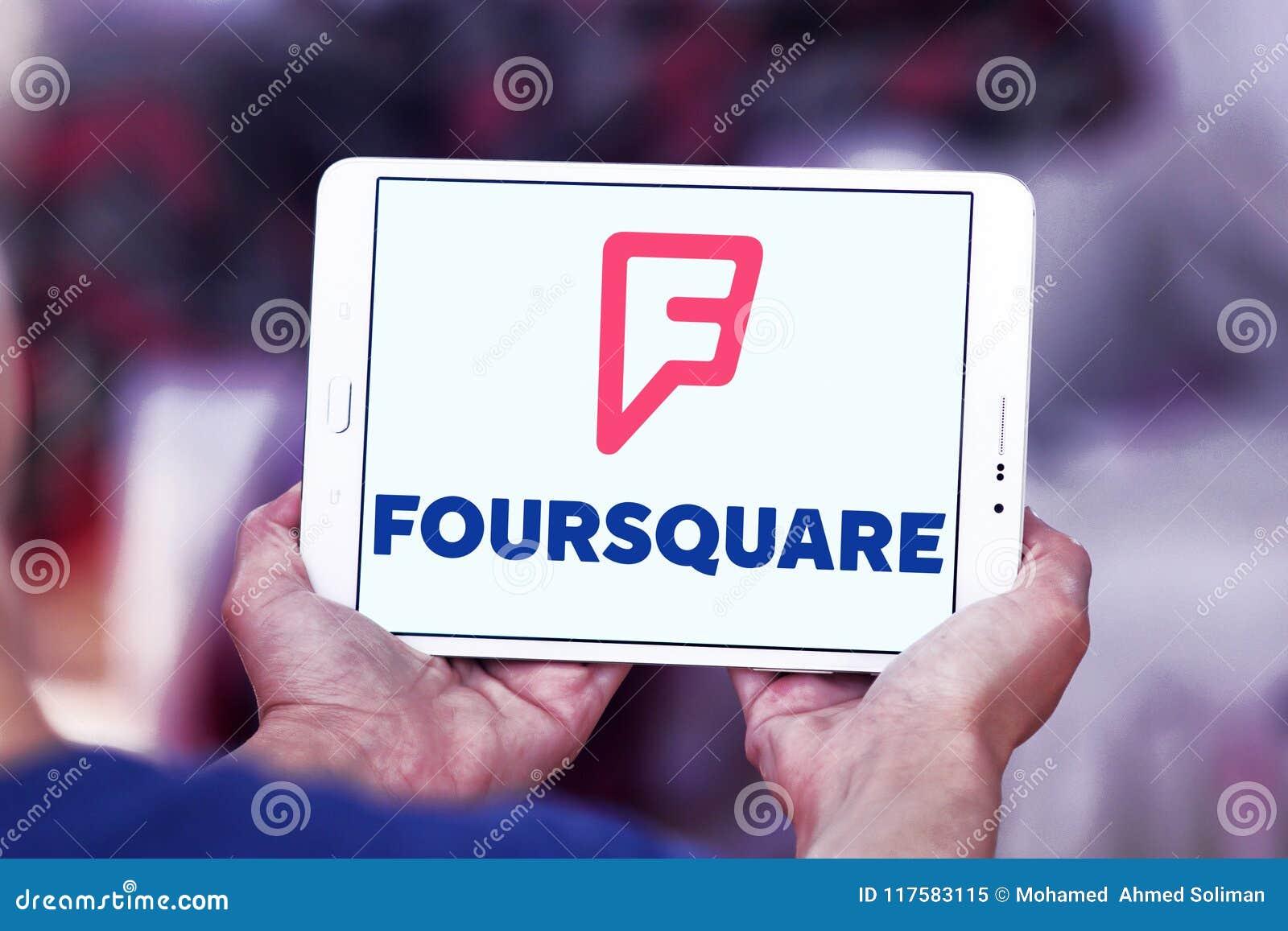 Foursquare APP-Logo