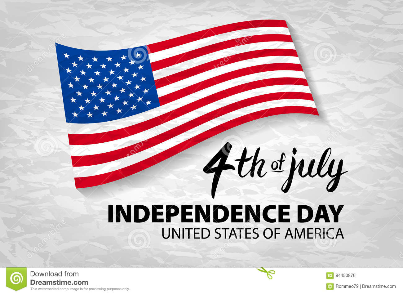 Download Fourth Of July USA Independence Day Greeting Card. 4 Th Of July.  United
