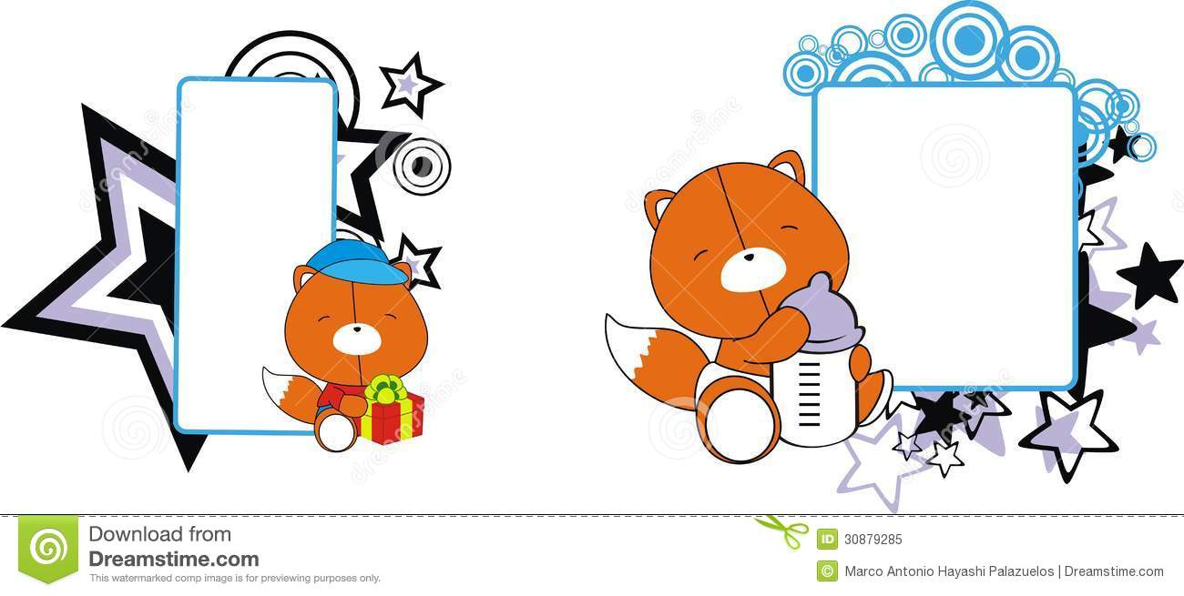 Vector Cute Little Fox, Vector, Fox, Hand Painted PNG and ...  |Vector Cute Baby Fox
