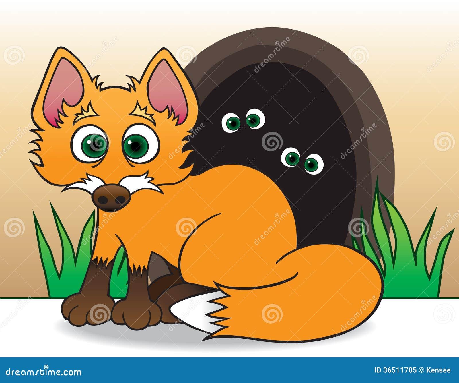 Fox de bébé