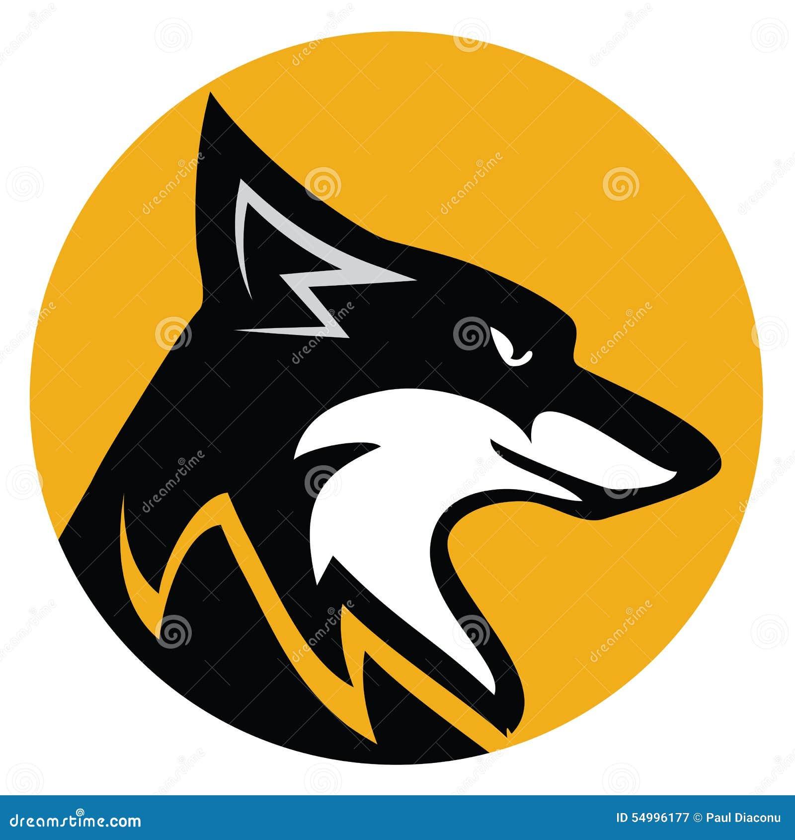 Fox Emblem Stock Vector