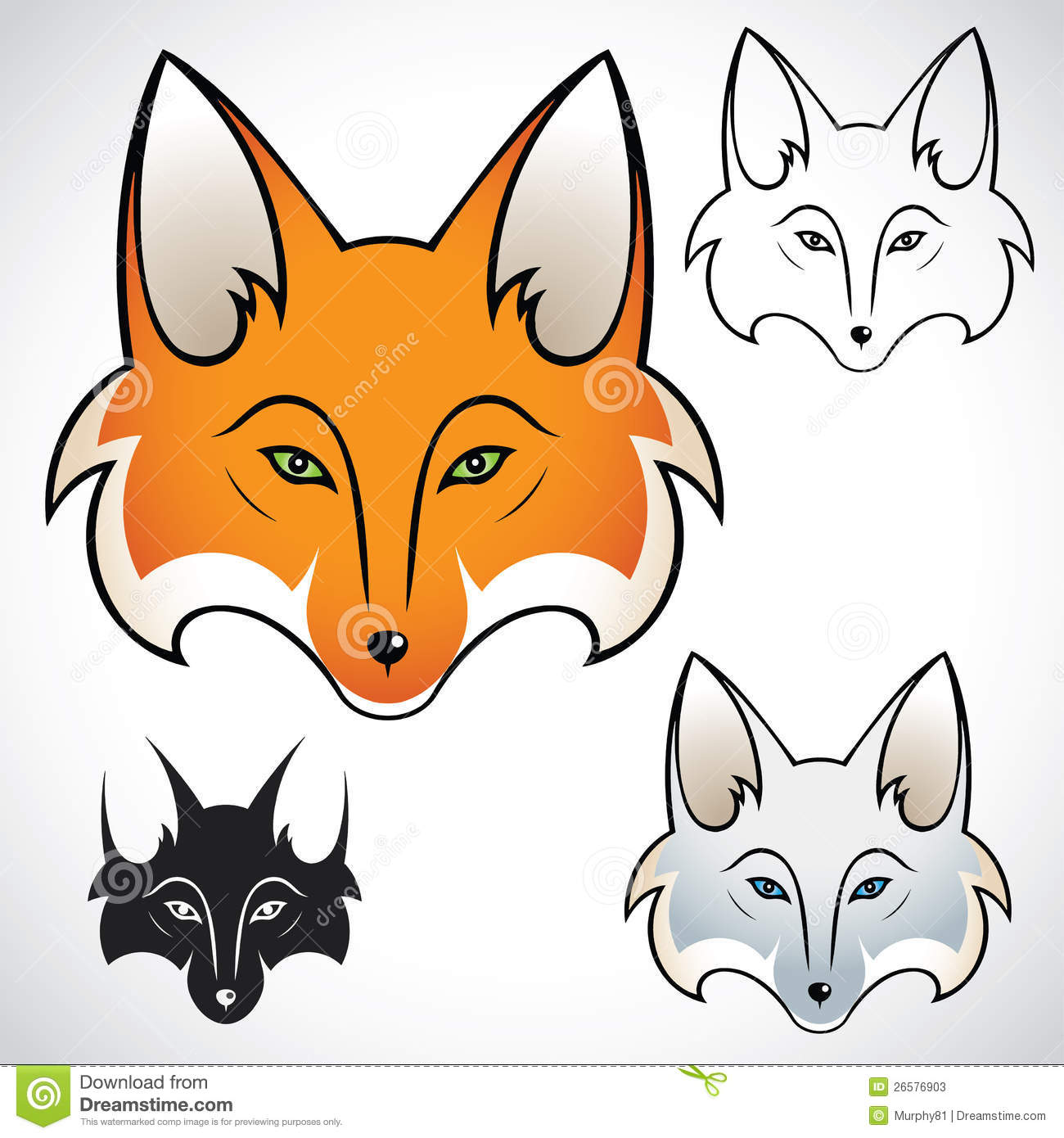 Fox Head Stock Photos ...