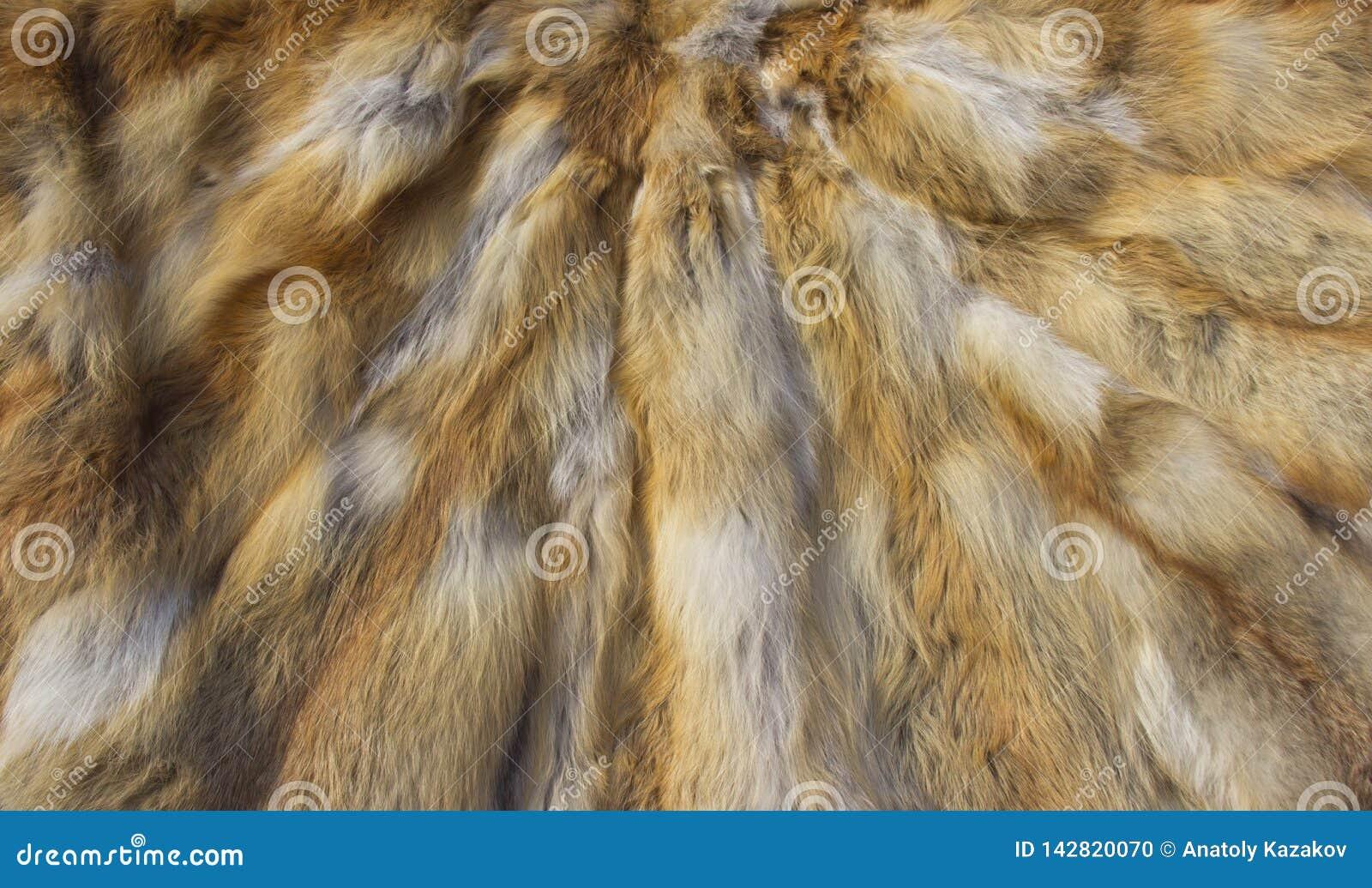Fox skins