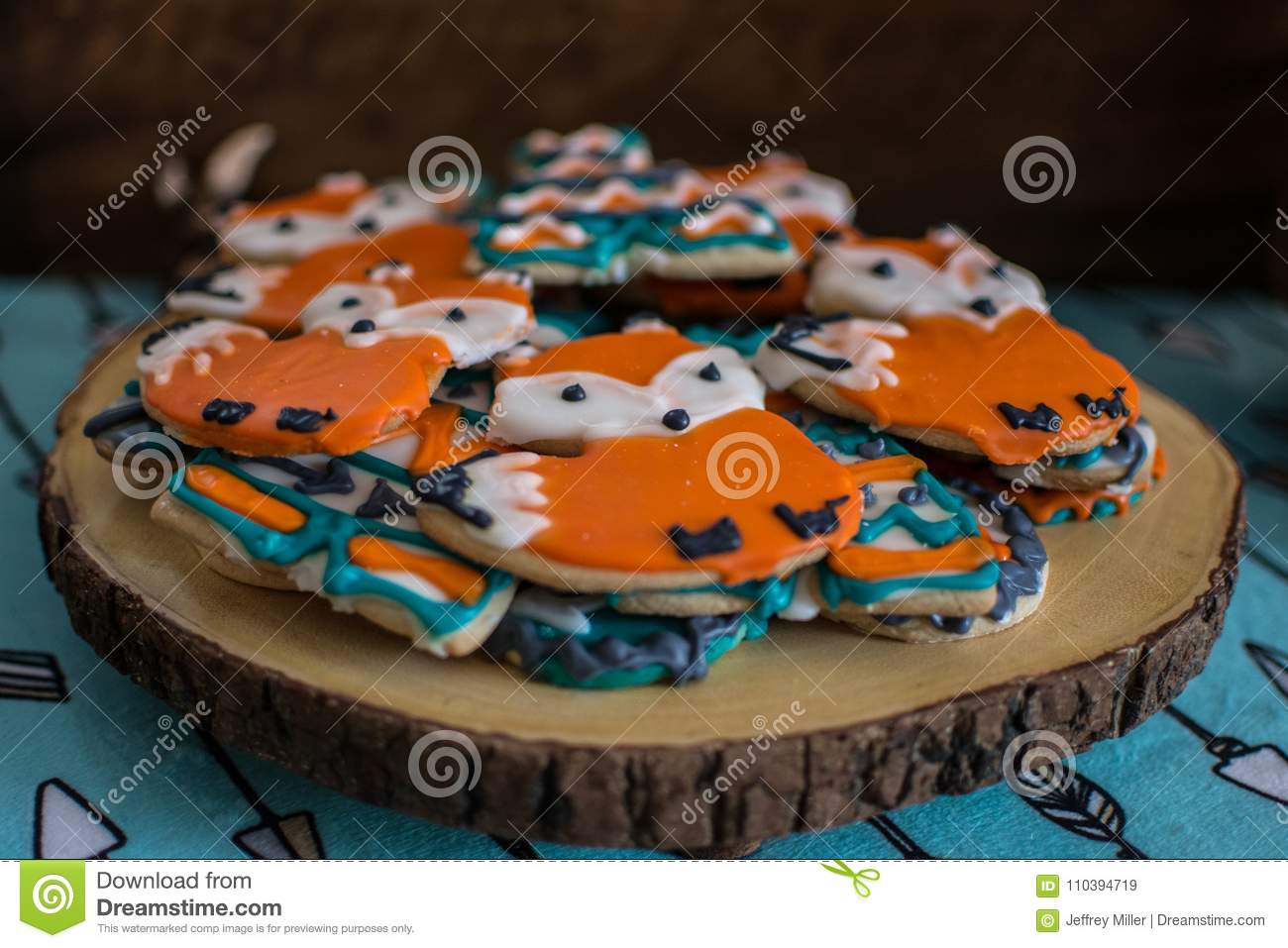 Fox And Teepee Cookies For An Animal And Outdoor Adventure Theme