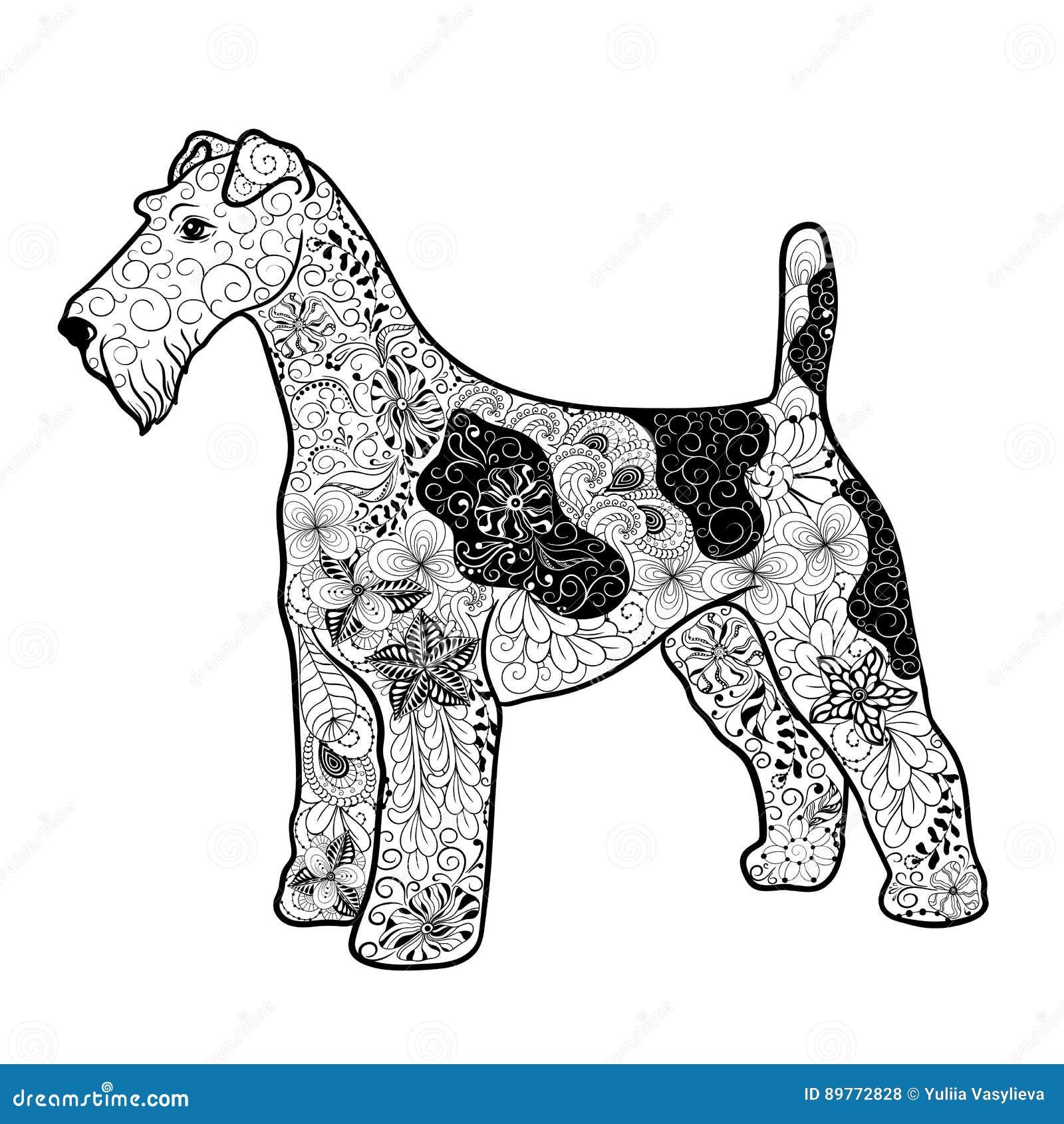 Fox Terrier Stock Illustrations – 299 Fox Terrier Stock ...