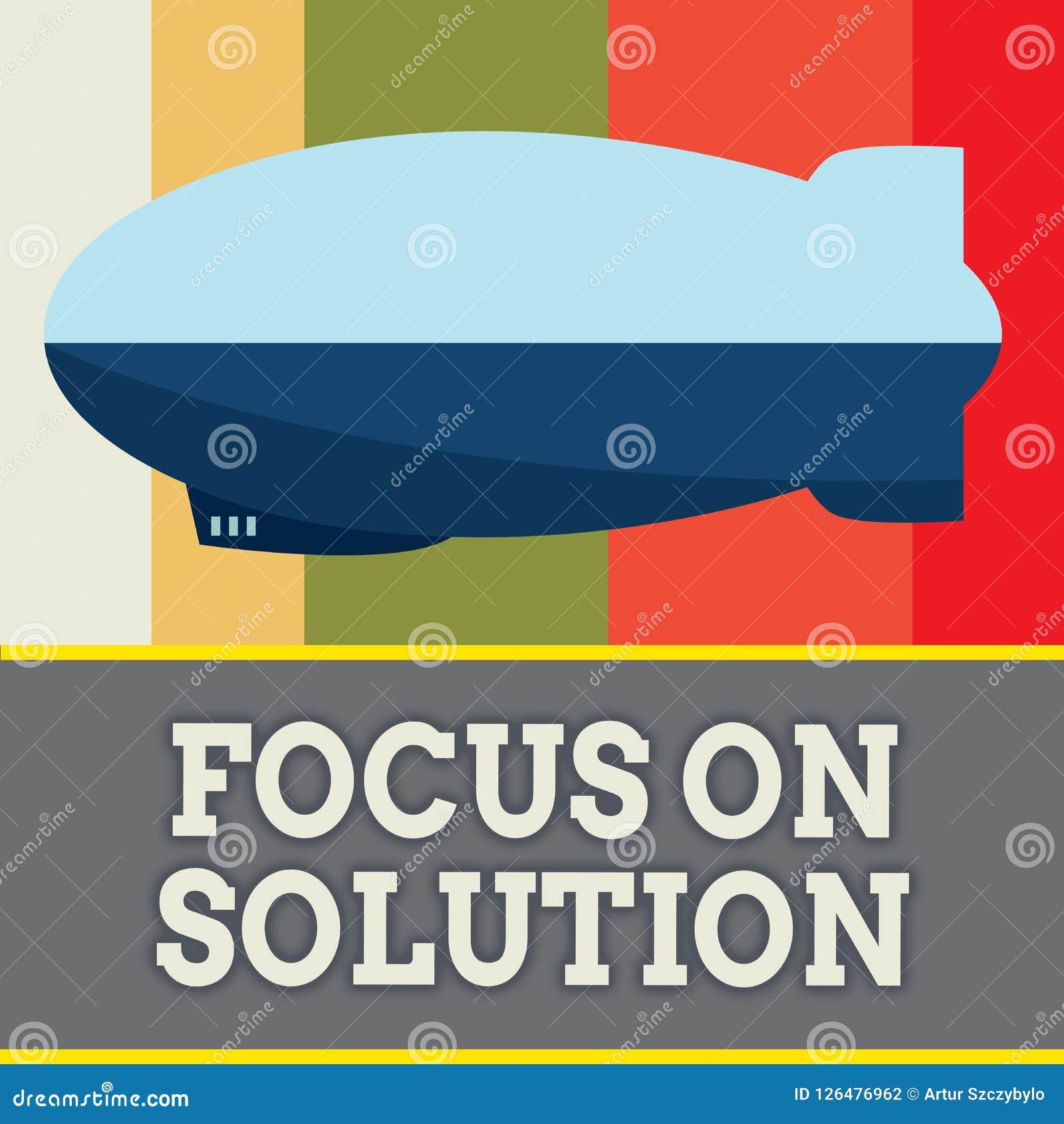 Foyer des textes d écriture de Word sur la solution Concept d affaires pour une pleine attention Give sur s occuper la réponse de
