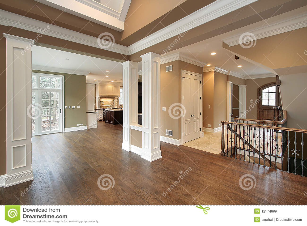 Foyer And Dining Room Royalty Free Stock Images Image