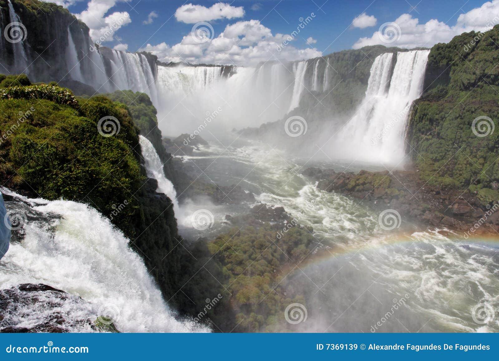 Foz hace las caídas de Iguassu