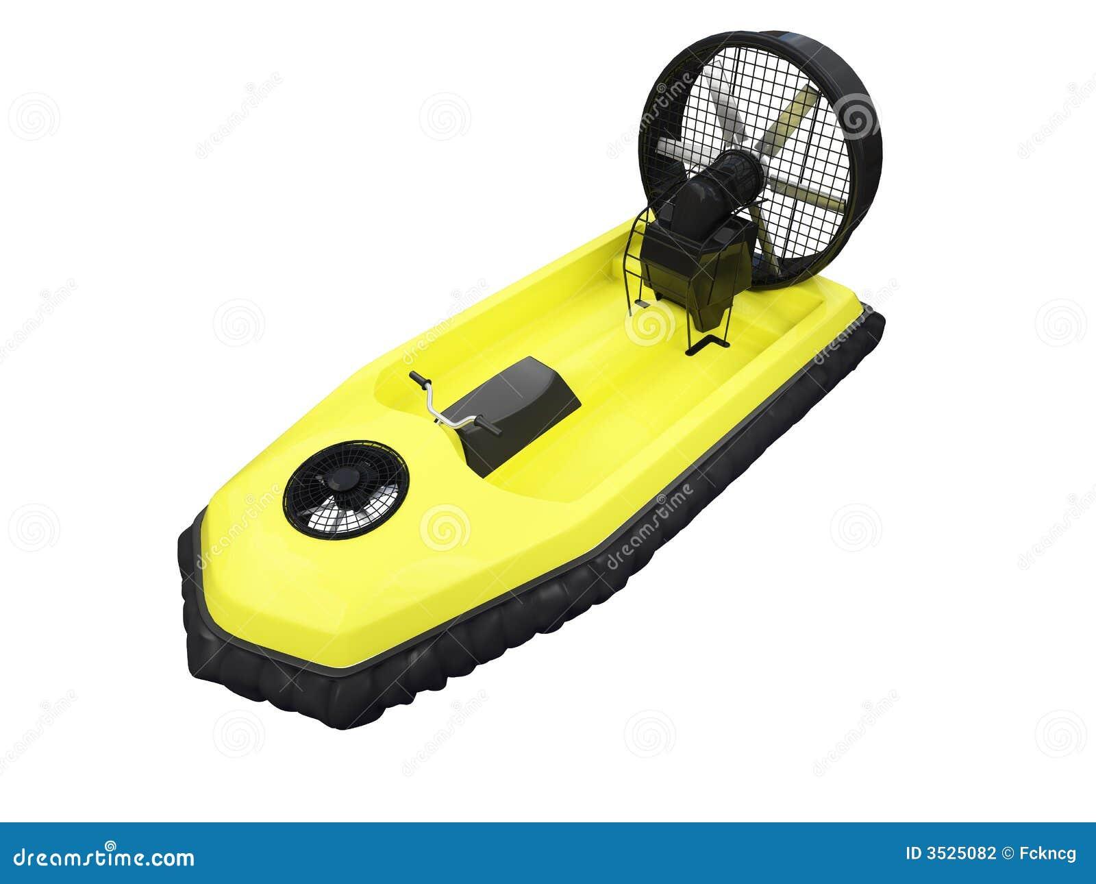 Främre hcraft isolerad yellow