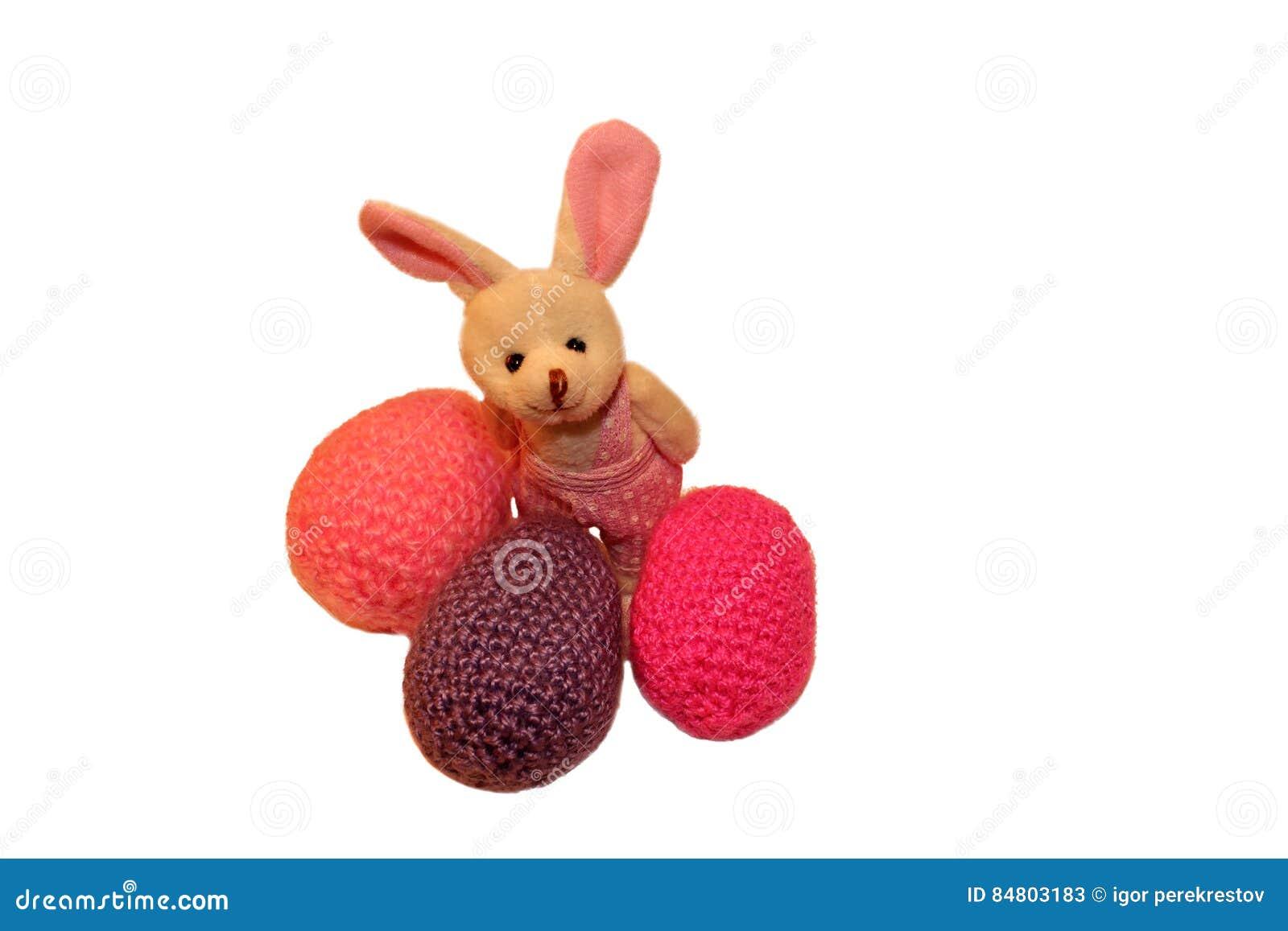 Fröhliche Ostern, Hase, Ostern, Weiß, Hintergrund, Isoliert, Froh ...