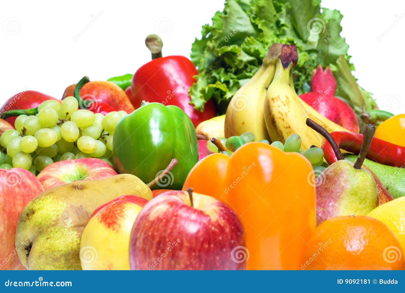 Früchte u. Gemüse