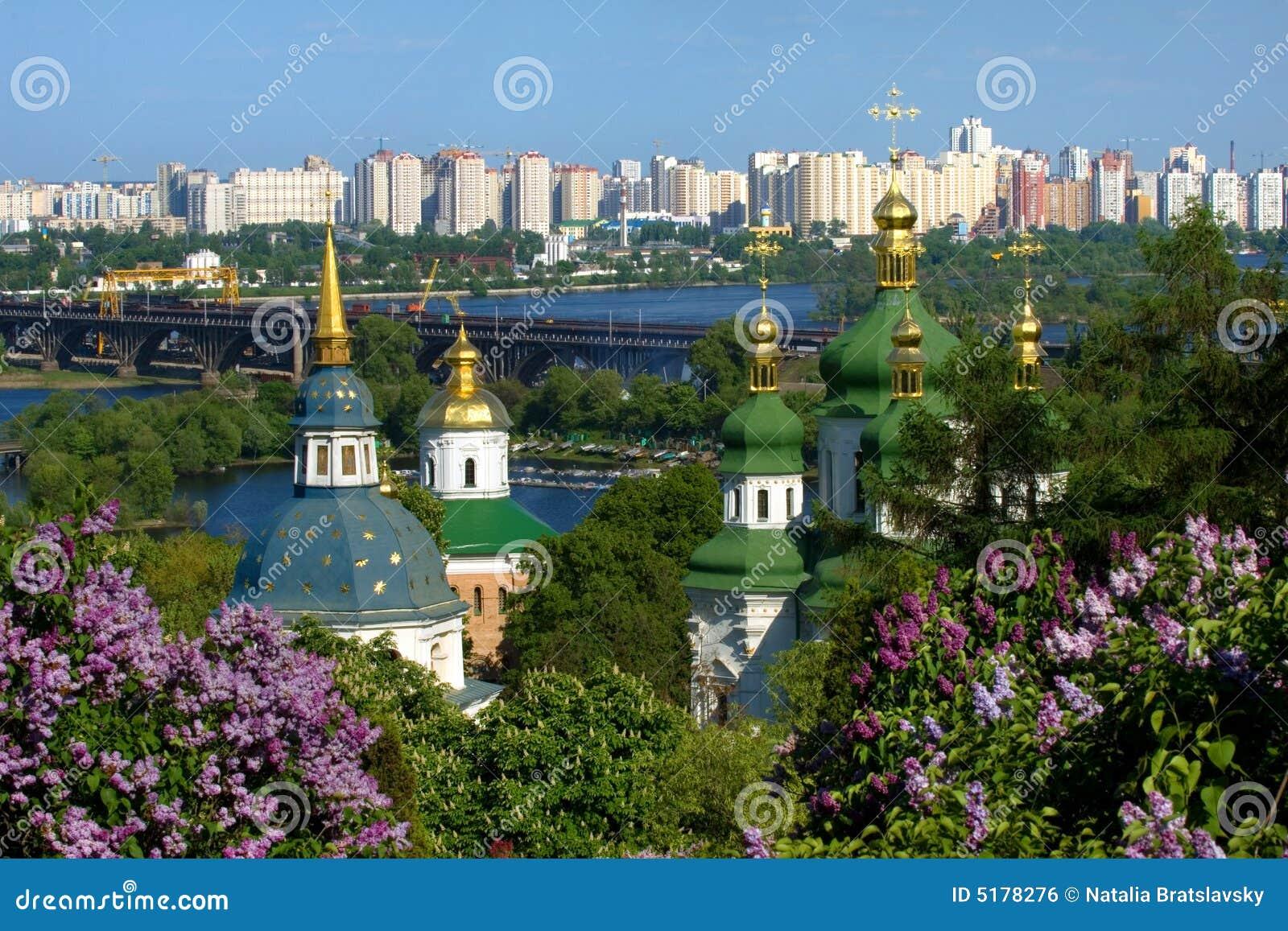 Frühjahr in Kiew