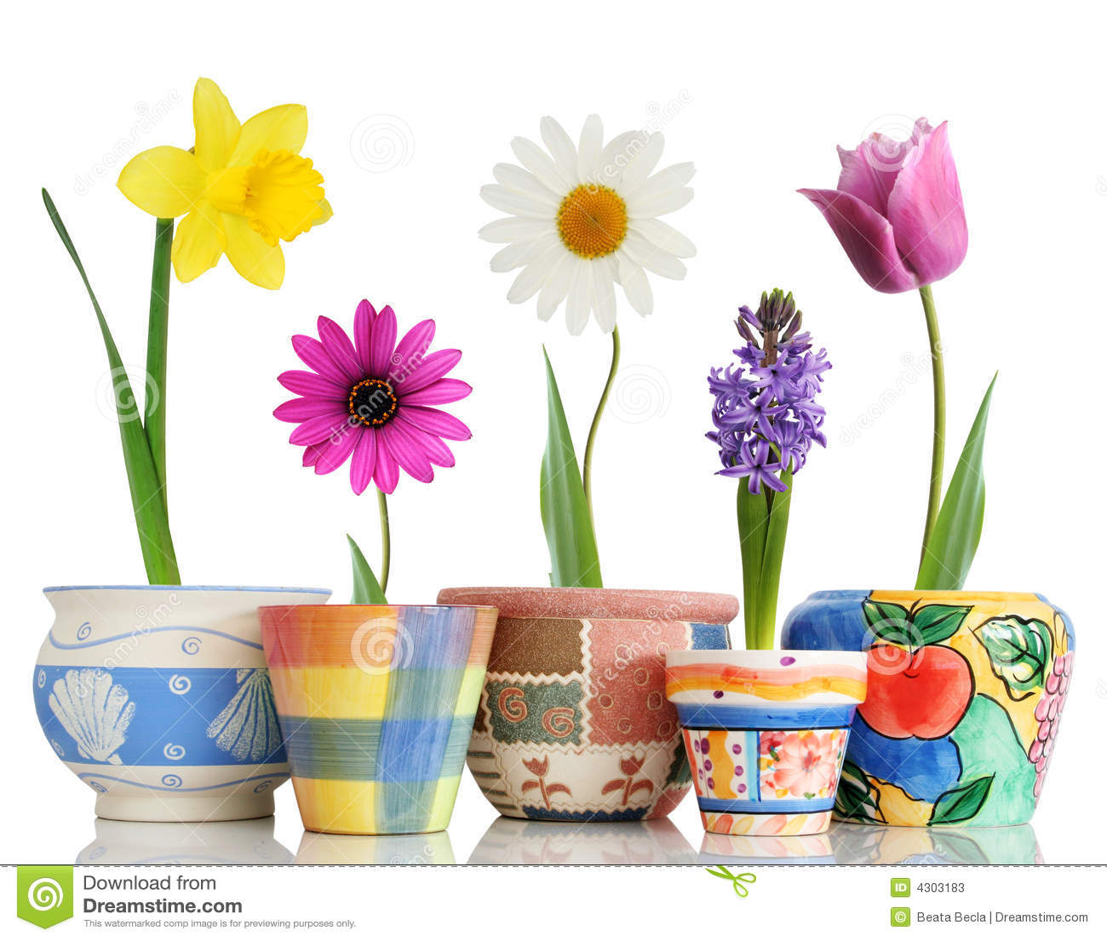 Frühling in den Potenziometern