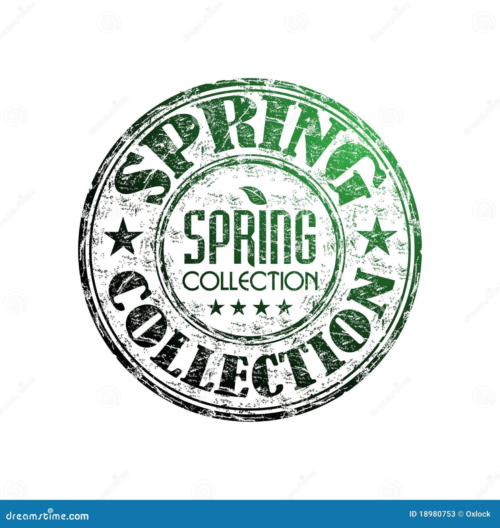 Frühlingsansammlungs-Stempel