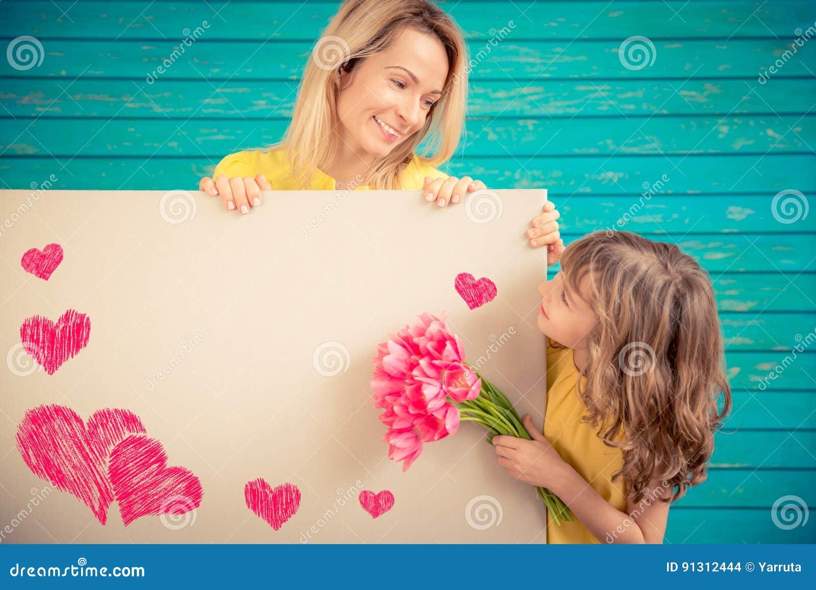 Frühlingsfeiertag Mutter ` s Tageskonzept