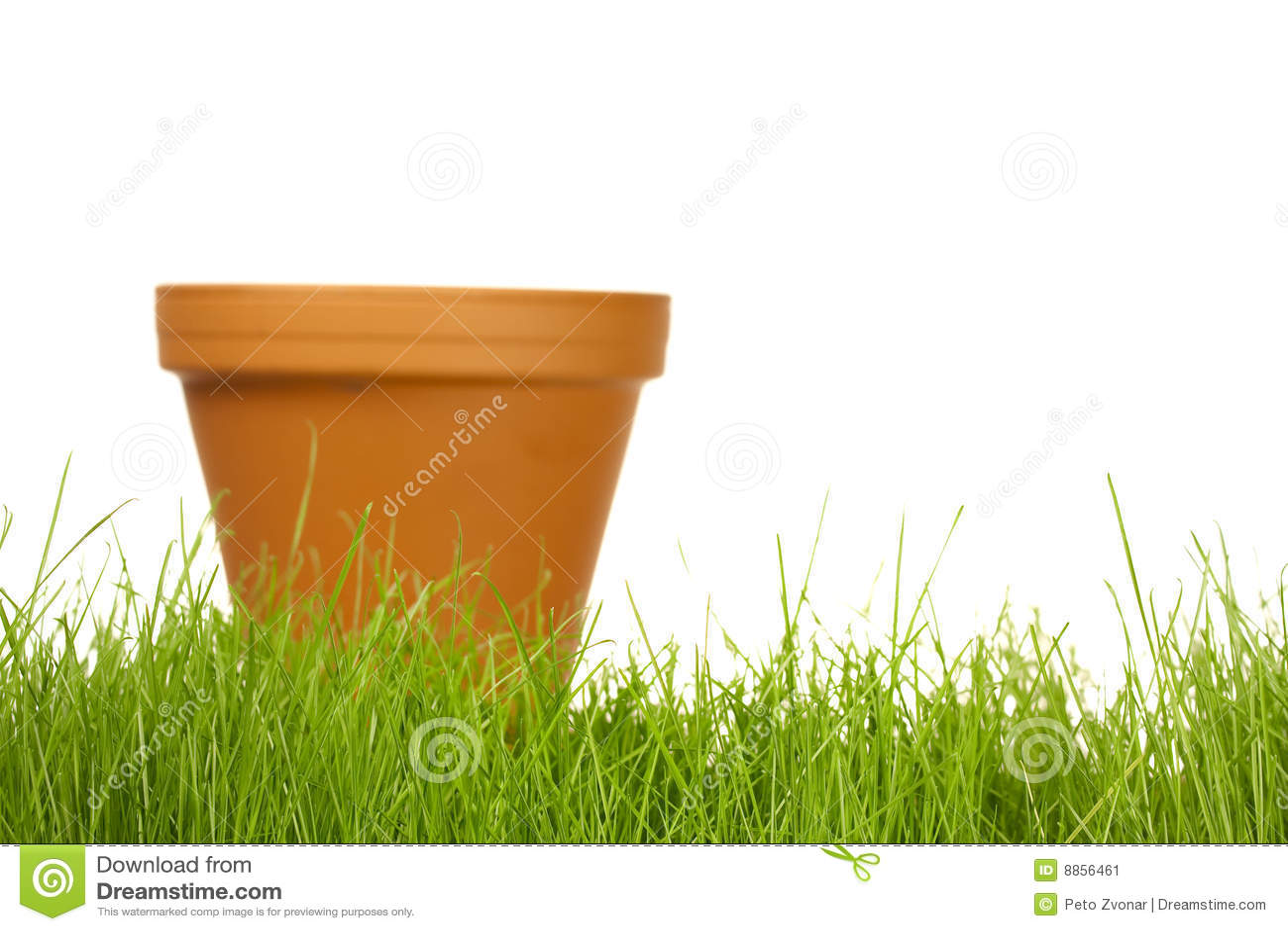 Frühlingsgartenarbeit