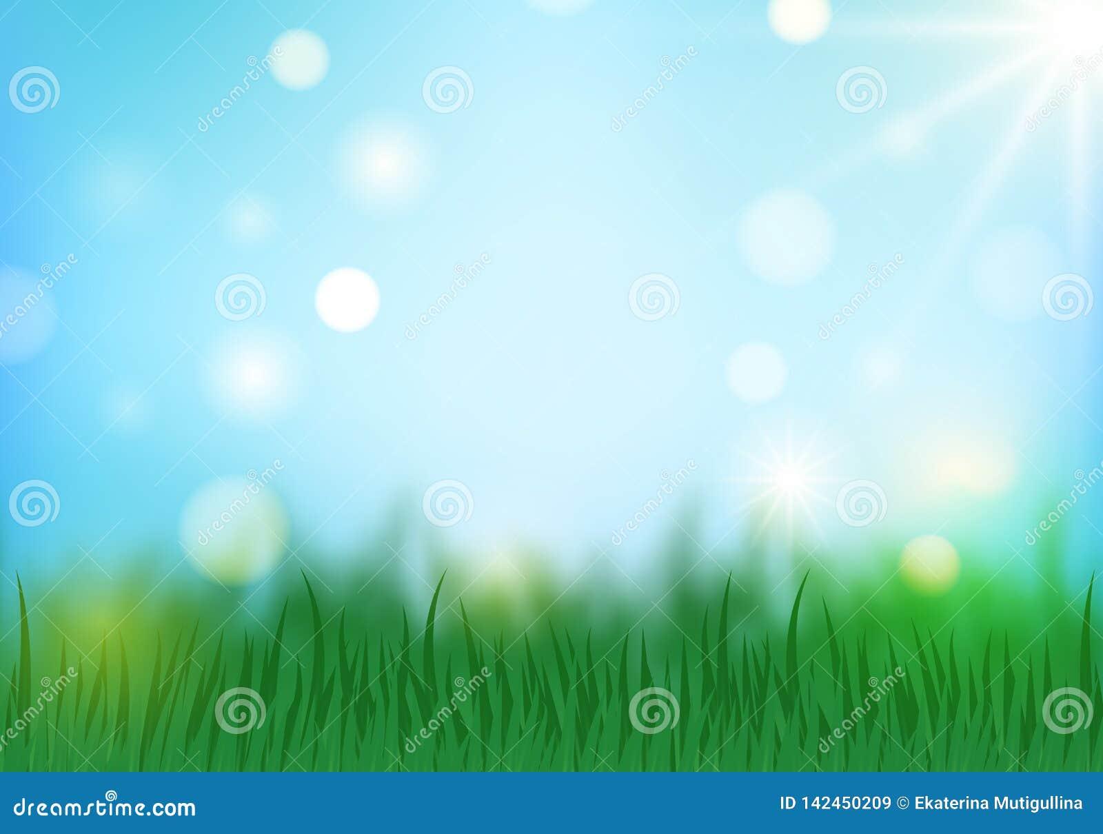 Frühlingshintergrund horizontal