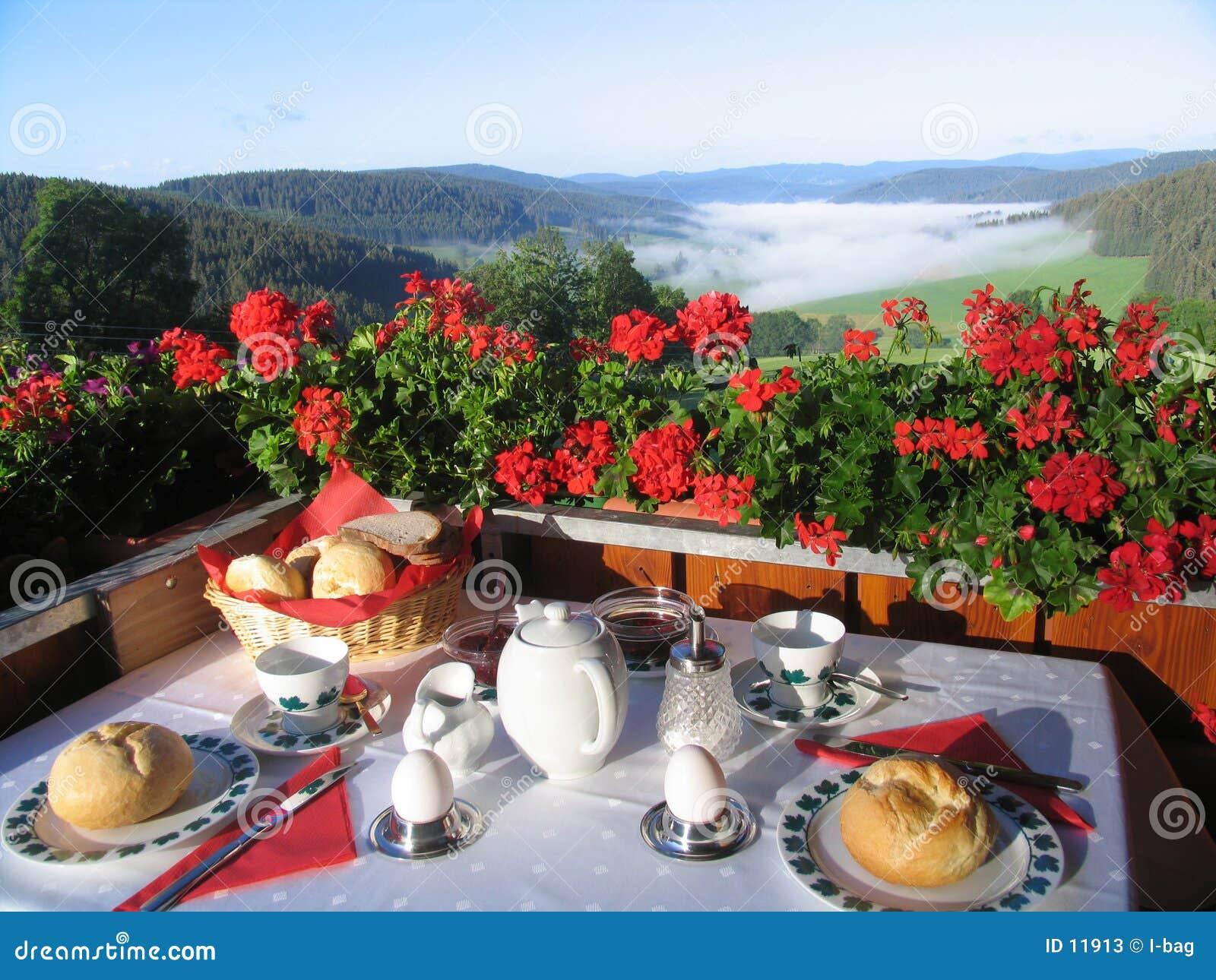 Frühstück im Paradies
