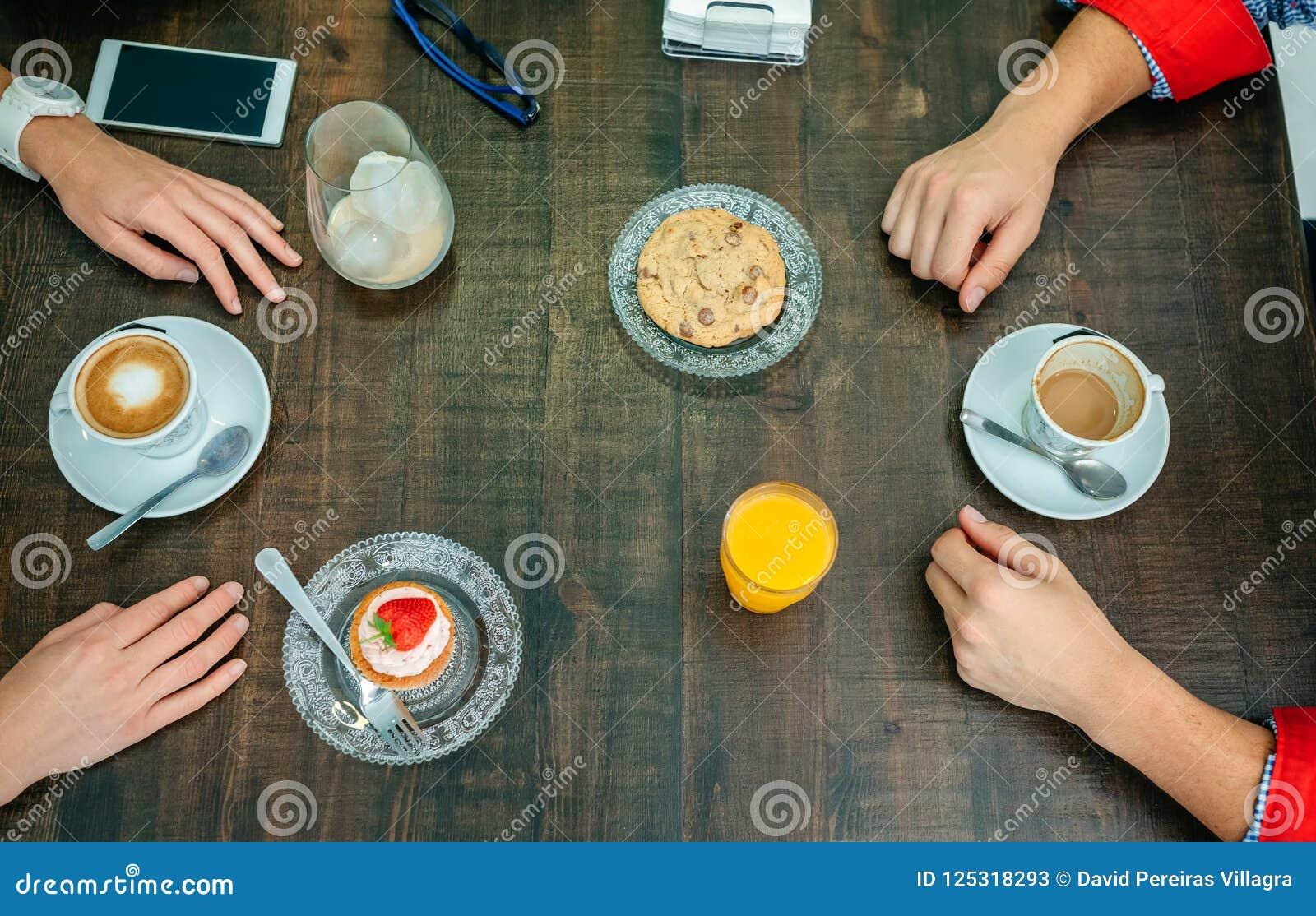 Frühstück mit den Paarhänden