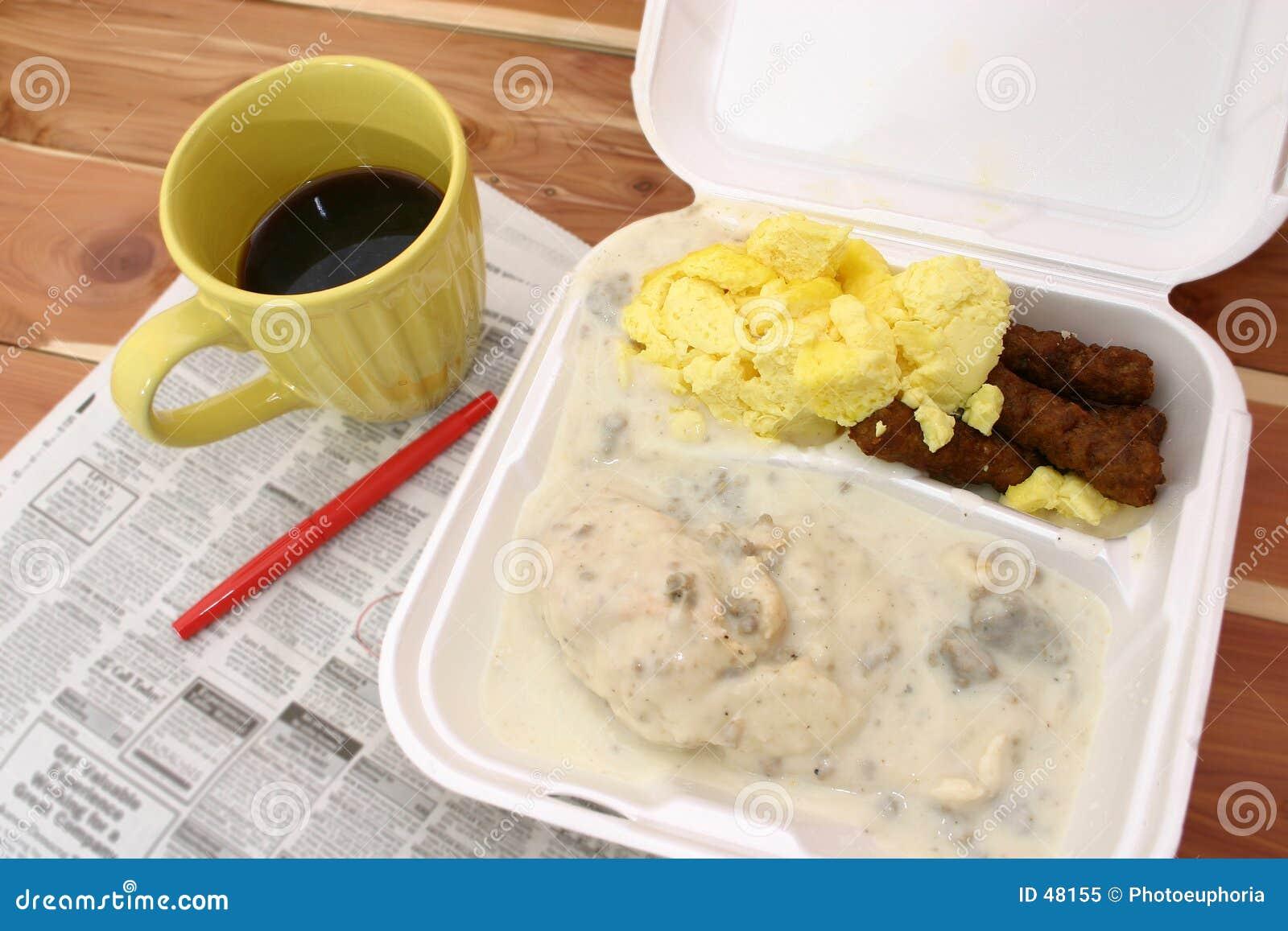 Frühstück Takeout