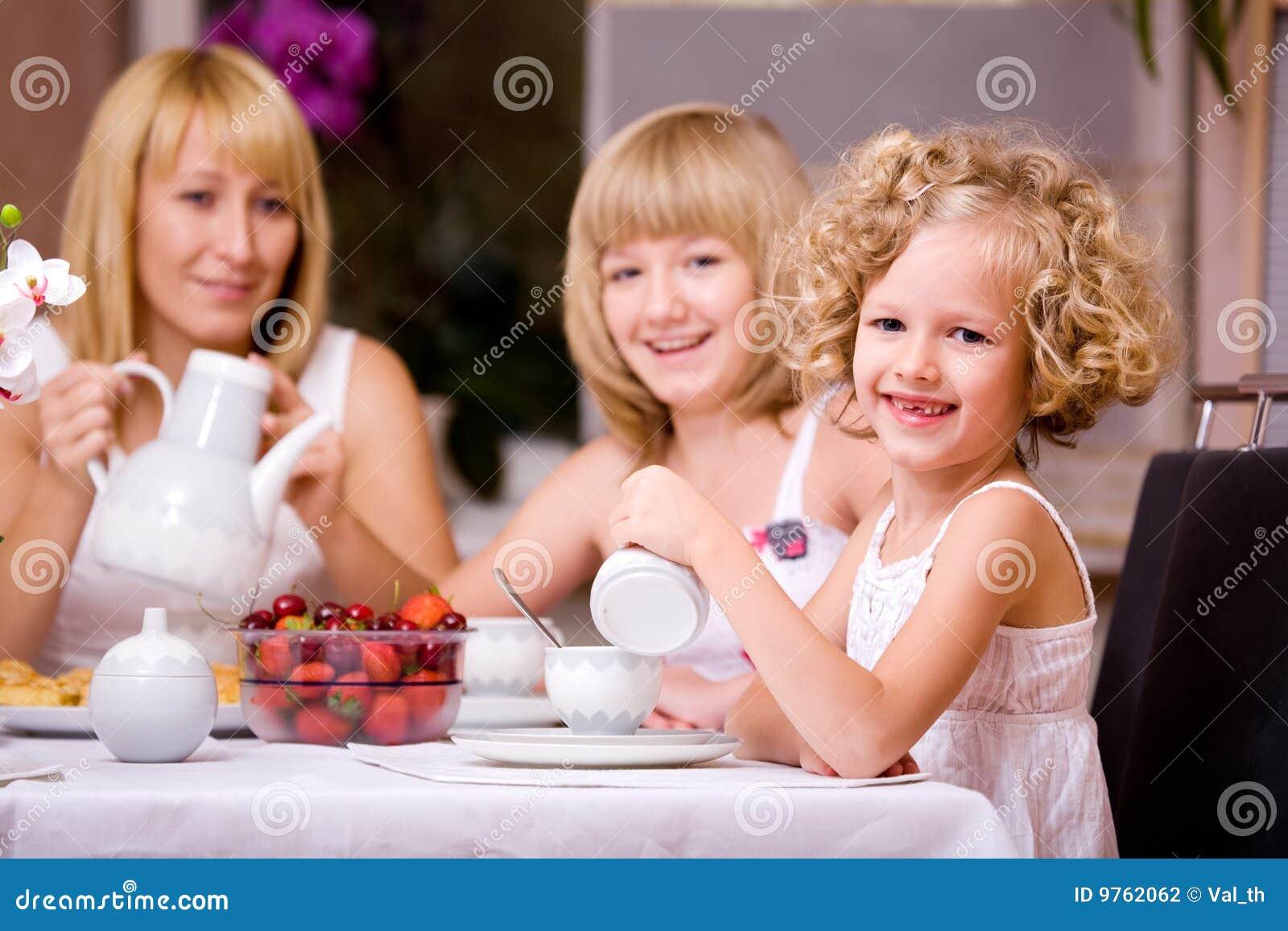 Frühstück zu Hause