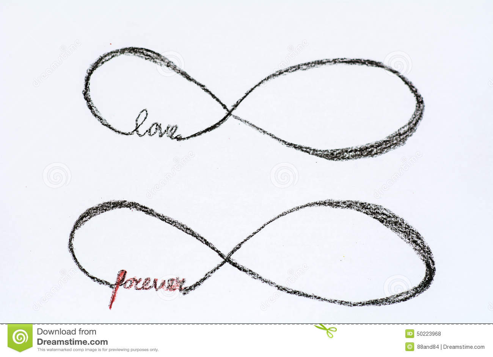Infinity Heart Ring Tattoo