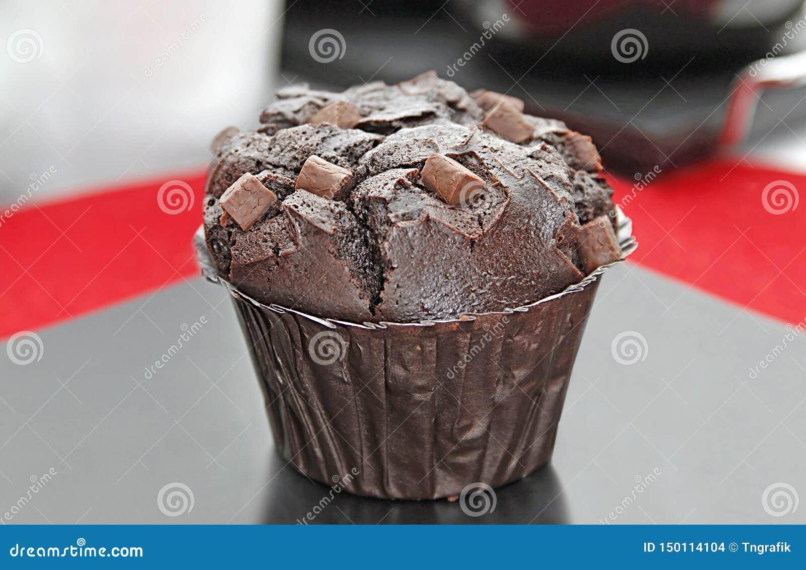 Fraîchement petit pain de morceau de chocolat