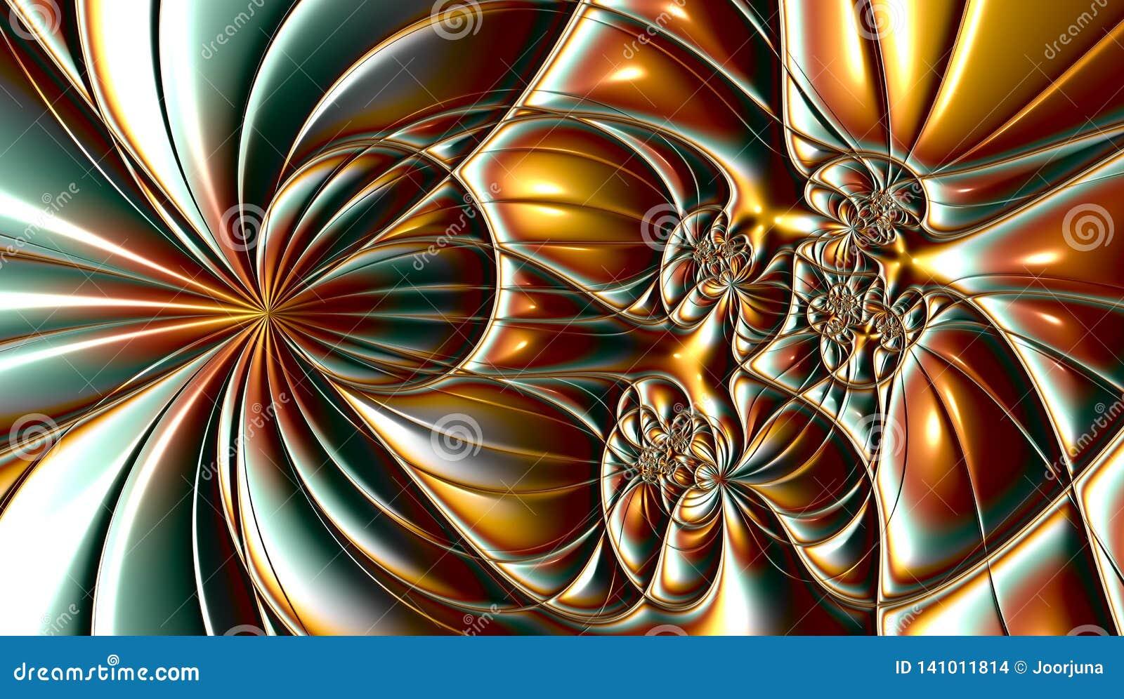 Fractal έργα τέχνης