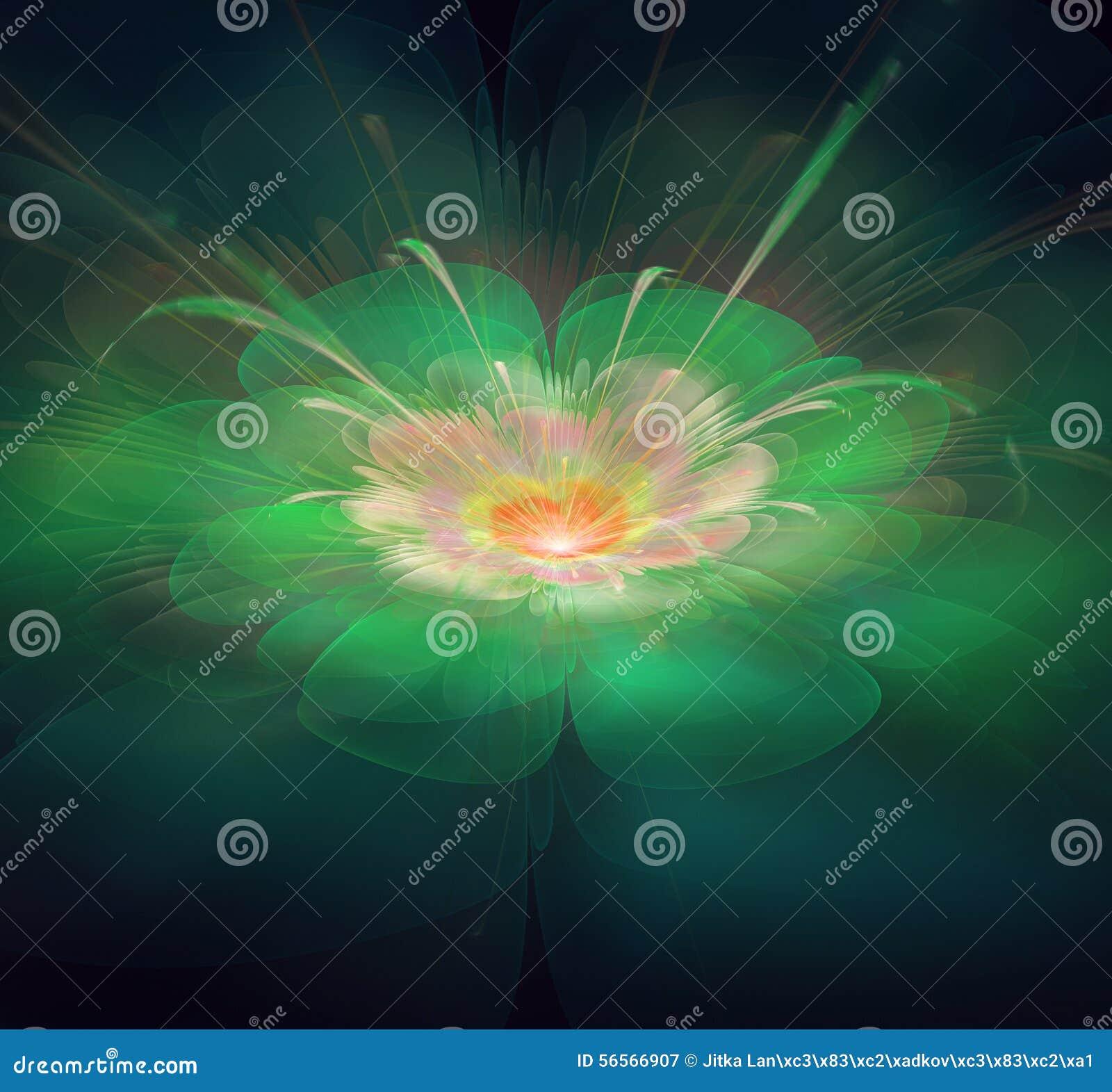 Download Fractal λουλούδι απεικόνιση αποθεμάτων. εικονογραφία από αποχής - 56566907
