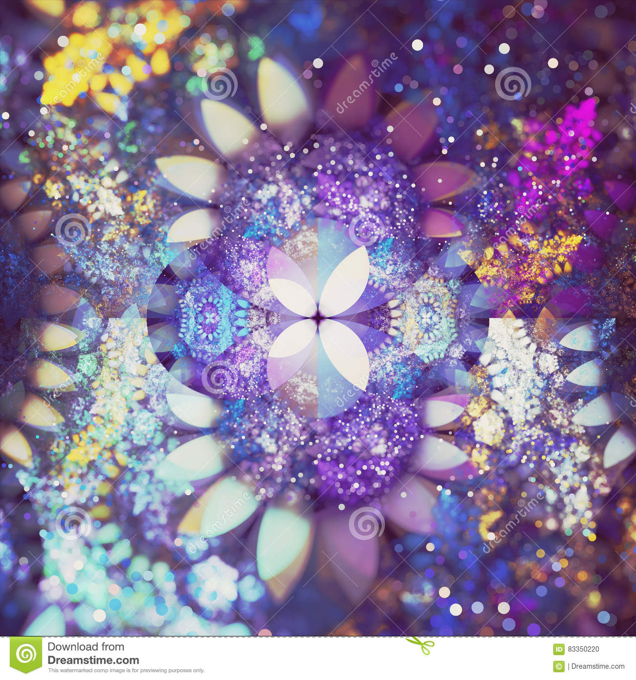 Fractal abstracto