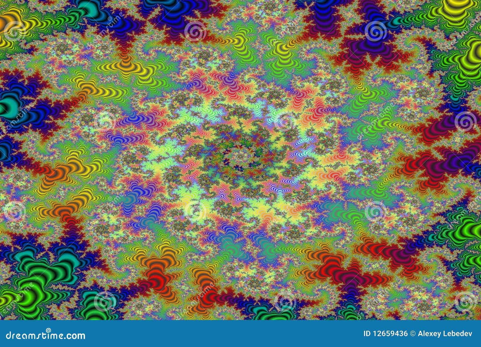 Download Fractal image. Wild Forest stock illustration. Illustration of backdrop - 12659436