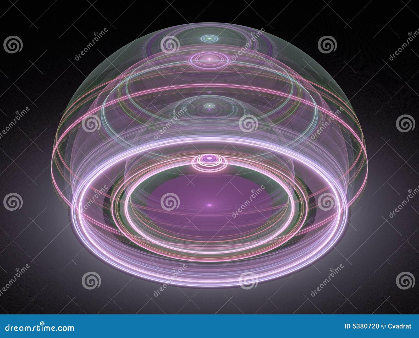 Fractal juliano magnífico óptico 08 del arte 3D