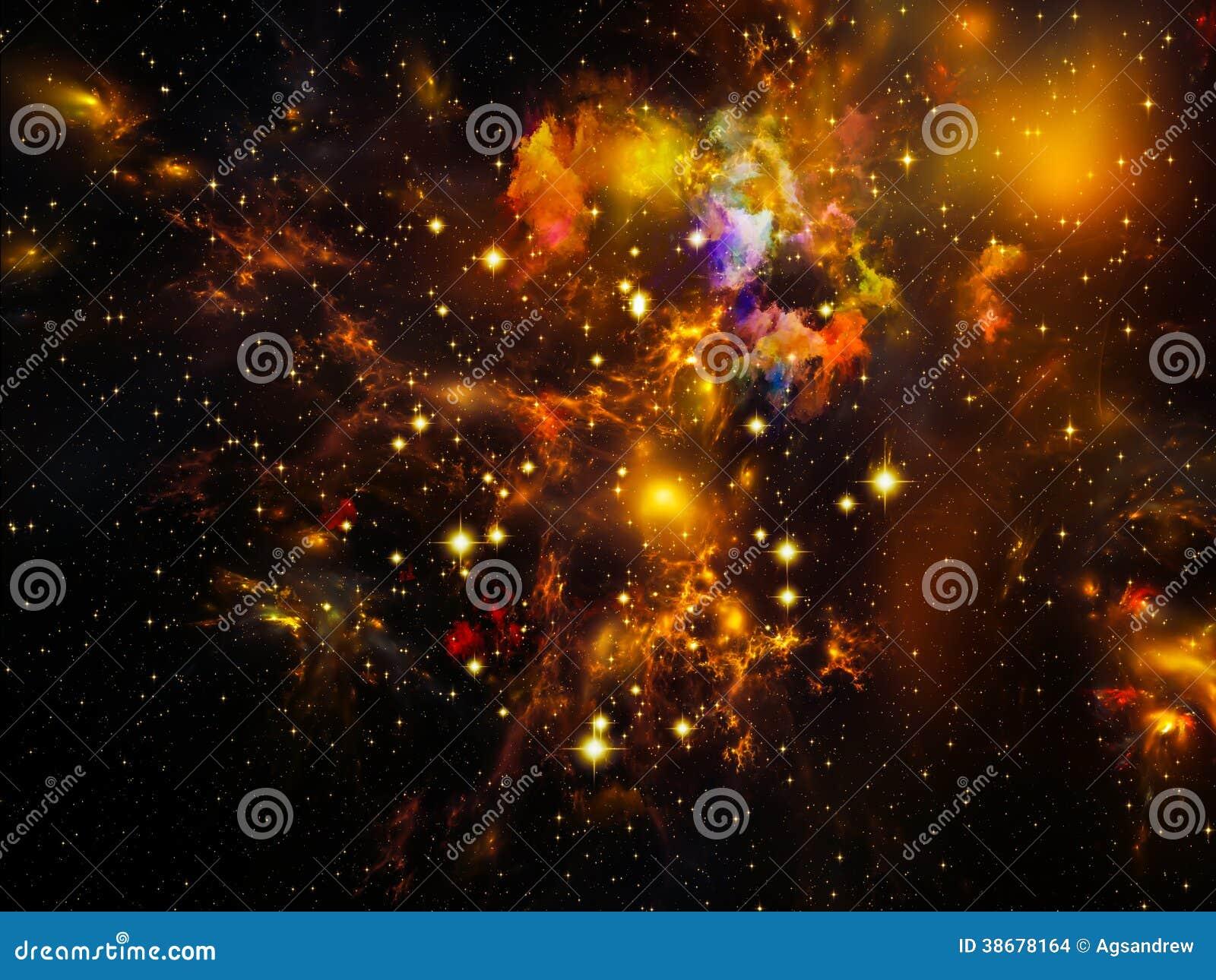 Stock Images Fractal Nebula Universe Not Enough Series Composition Ele...