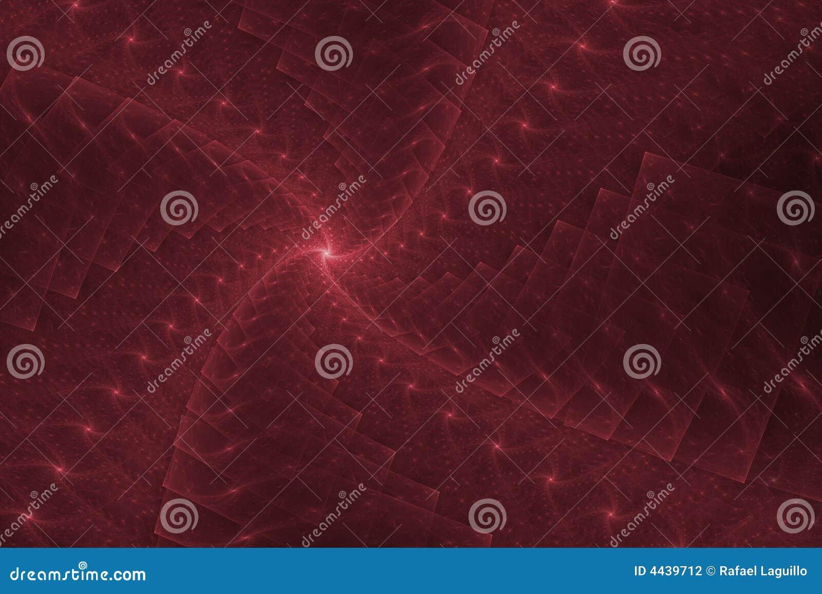 Fractal red design