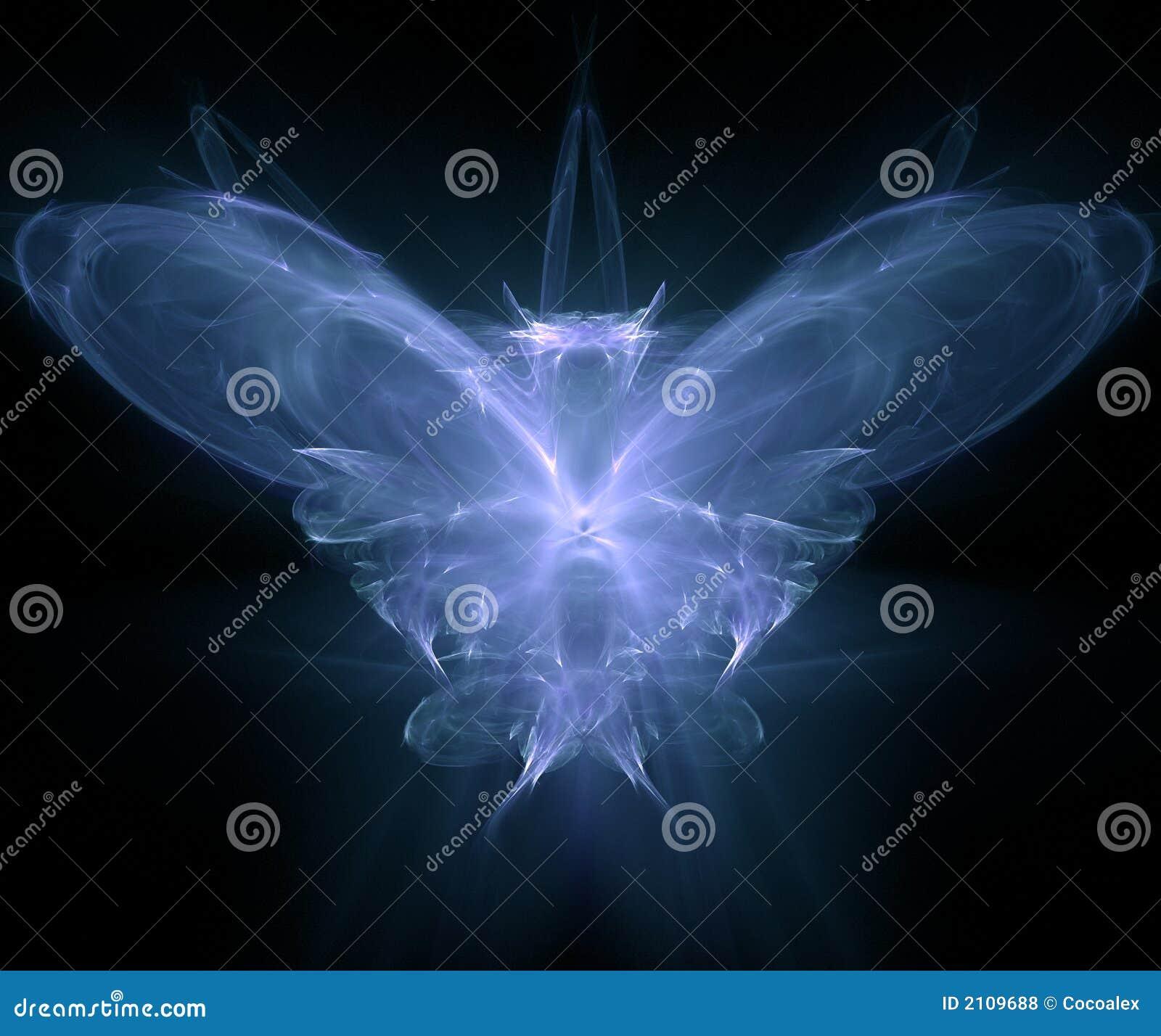 Fractal wytworzona motyla