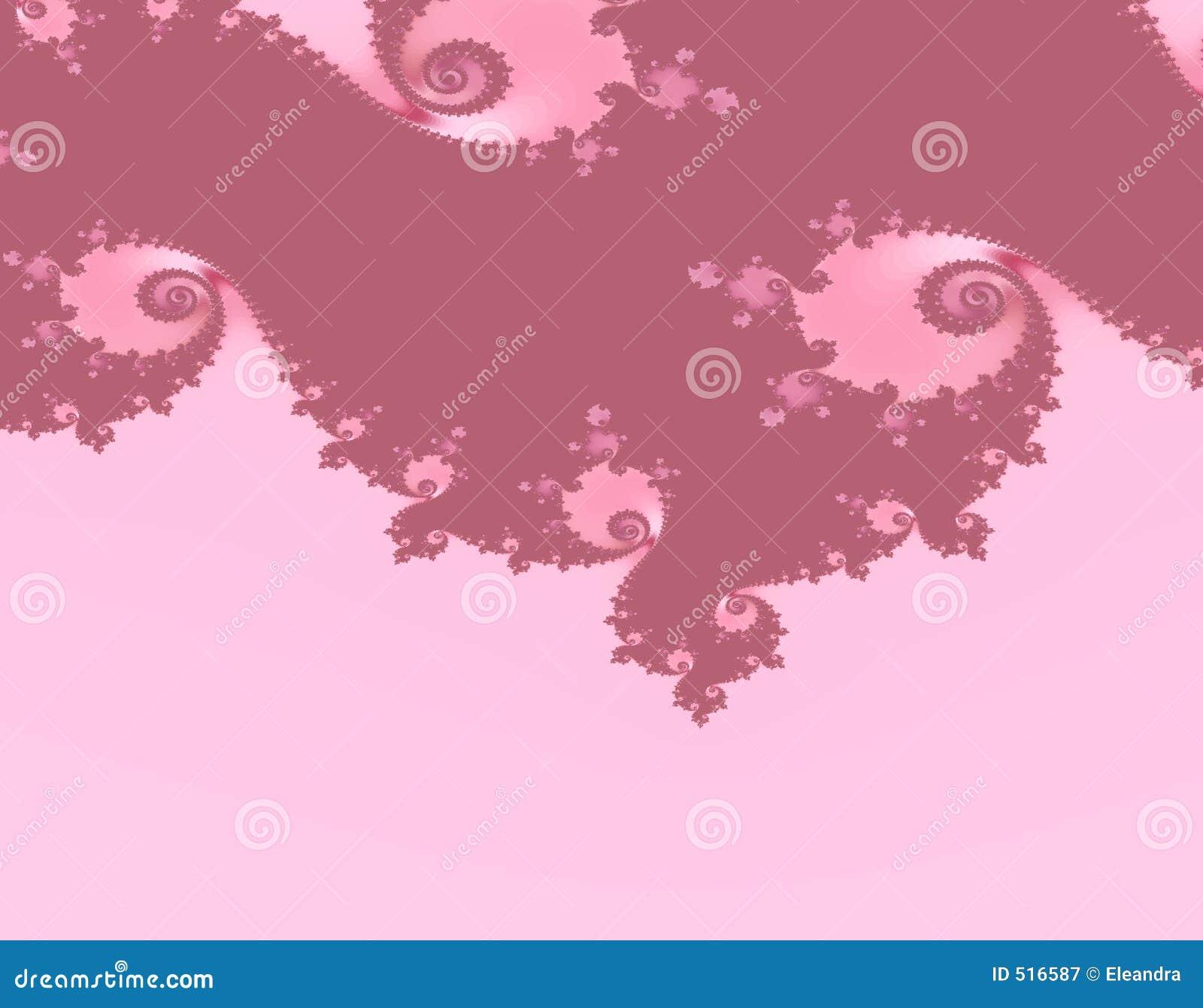 Fractale rose