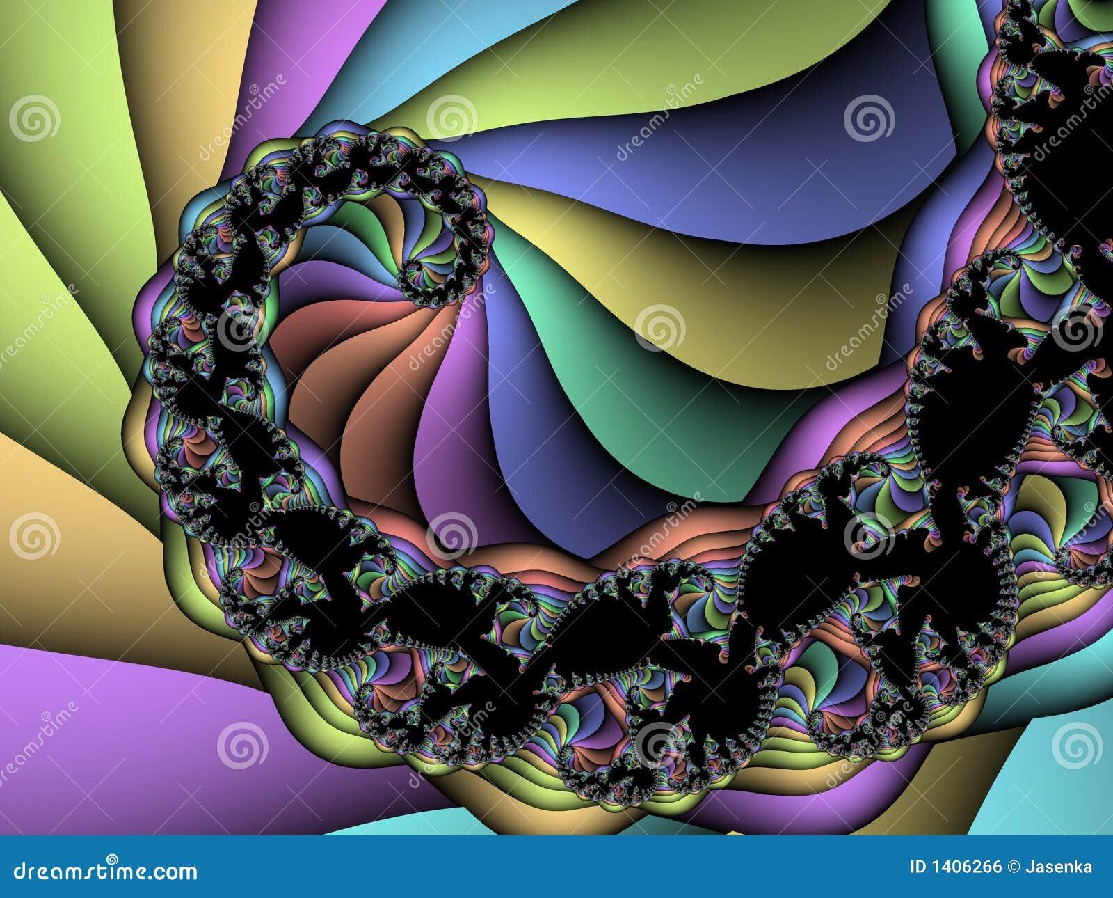 Fractale spiralée